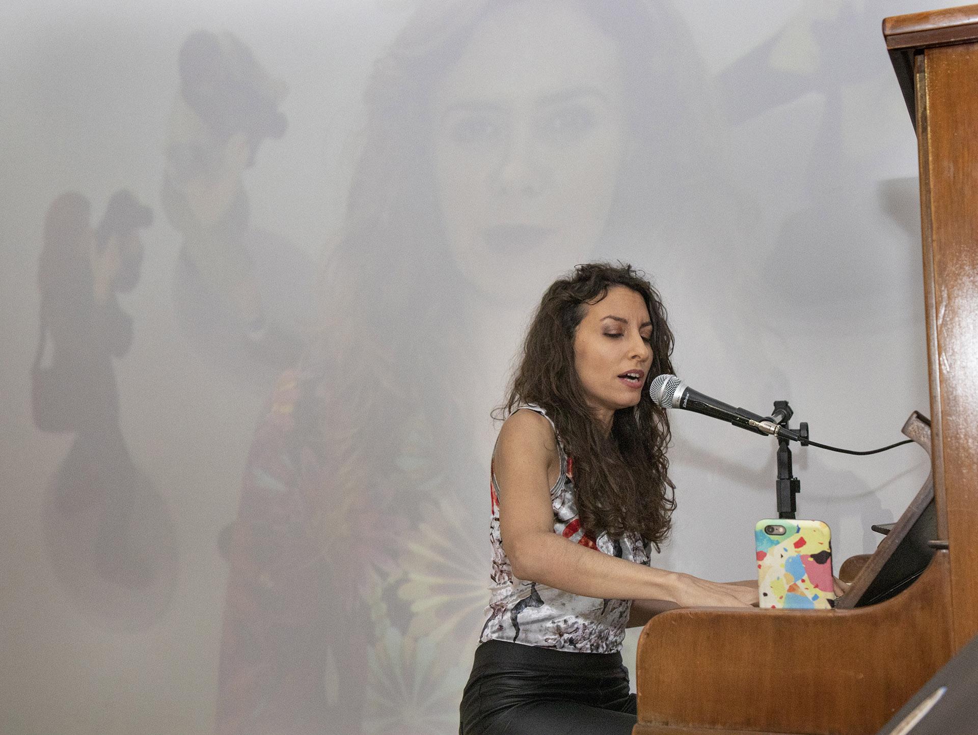 Sumaia Daher brindó un concierto