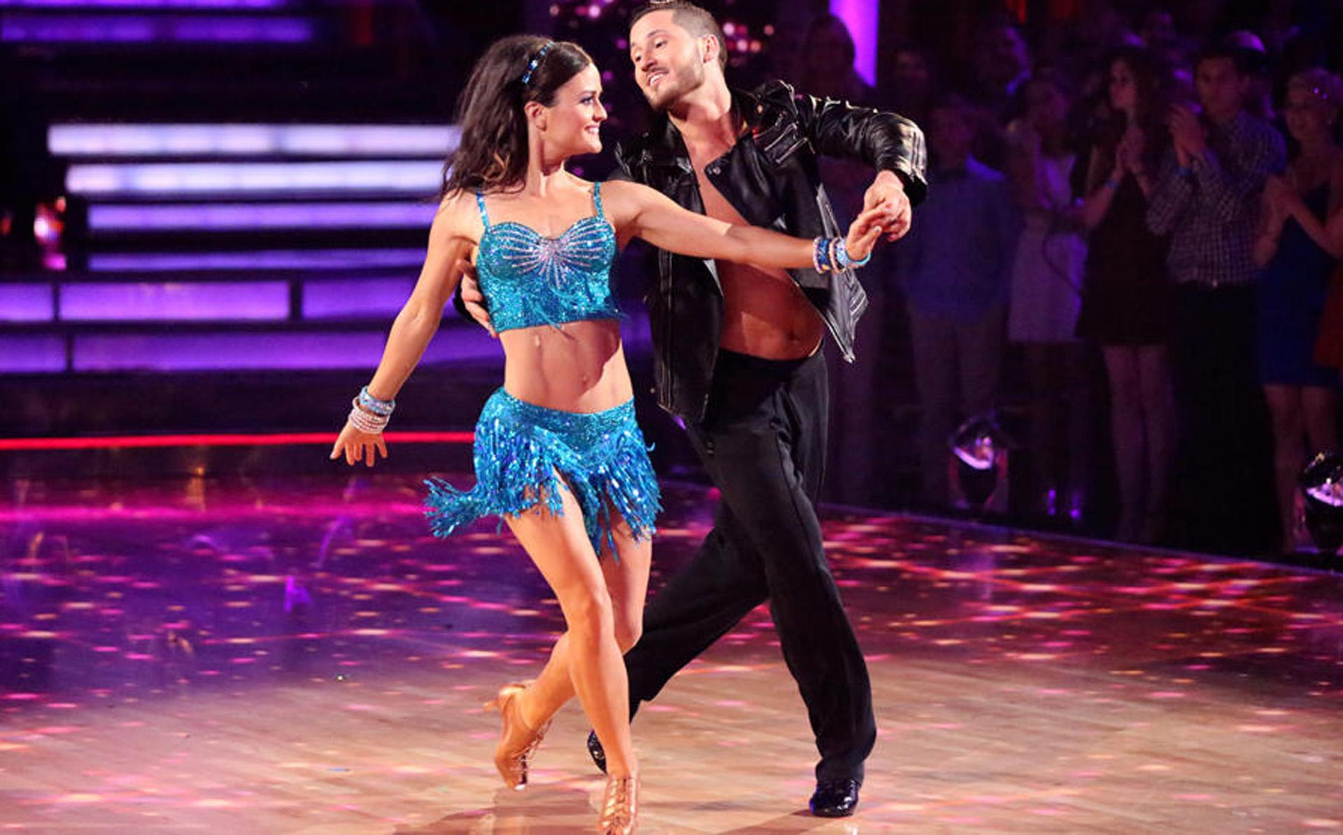 Danica McKellar en Bailando con las estrellas