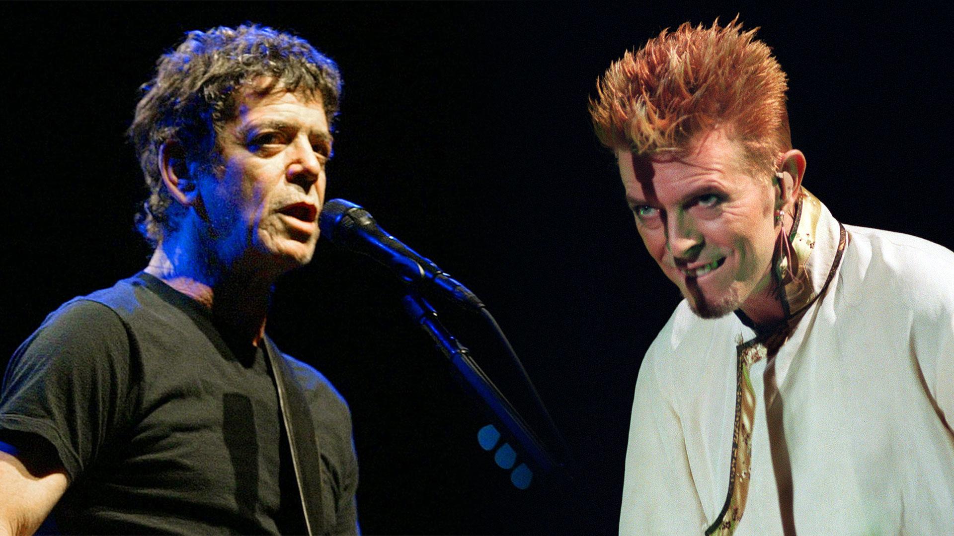 Lou Reed Y David Bowie Memoria De Dos Planetas Orbitando La