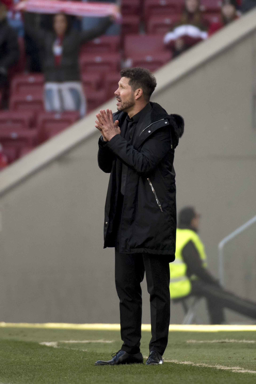Diego Simeone, entrenador del Atlético Madrid
