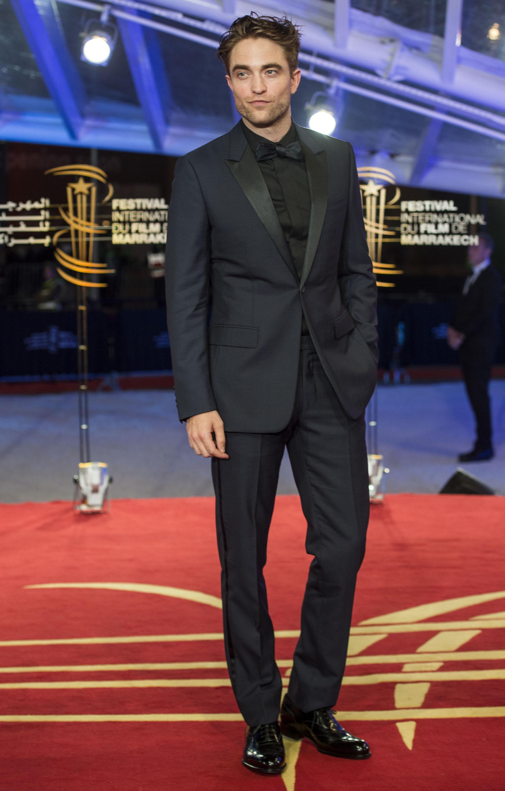 La elegancia de Robert Pattinson