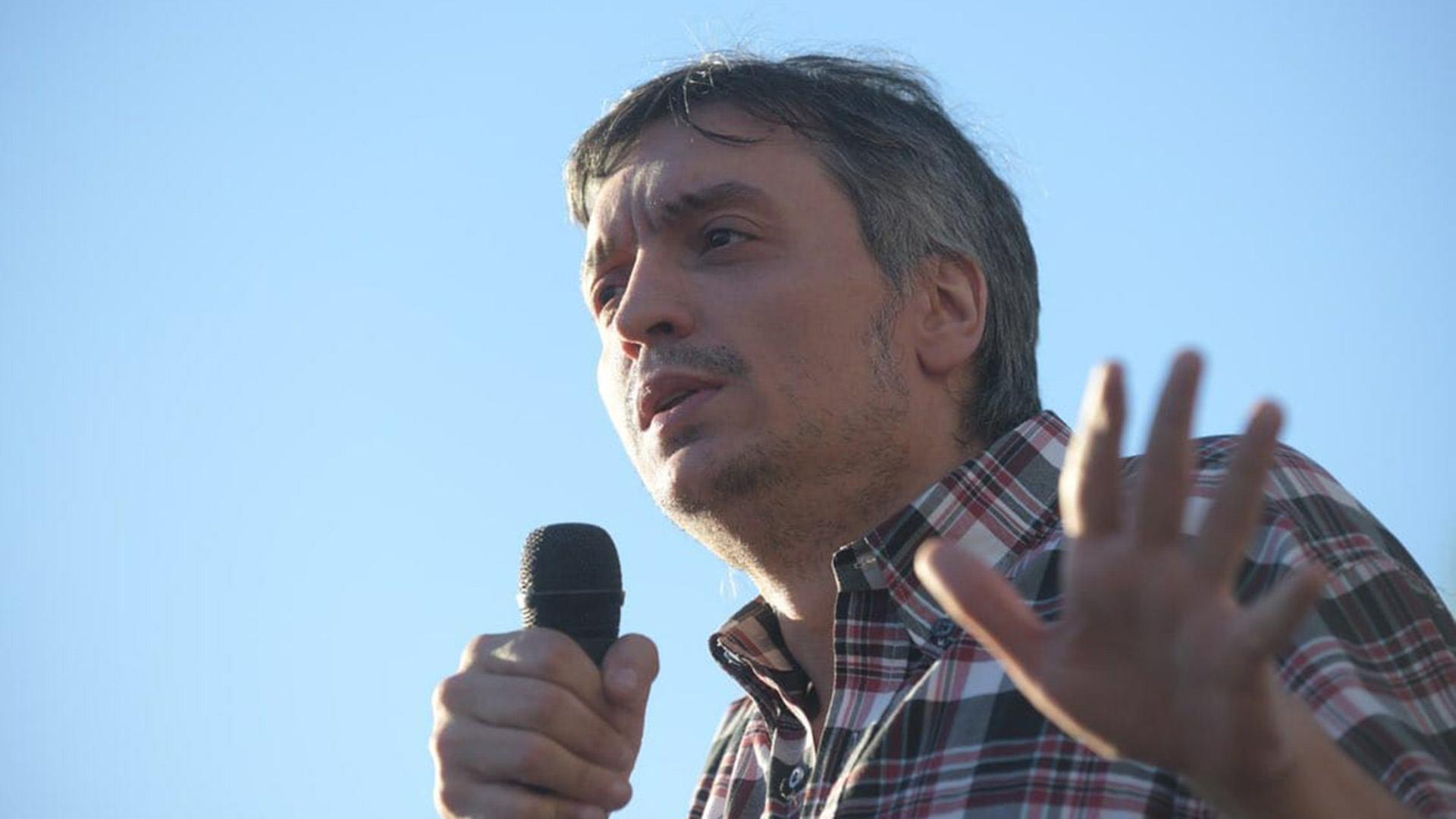 Máximo Kirchner denunció en La Plata la falta de inversión pública en salud.