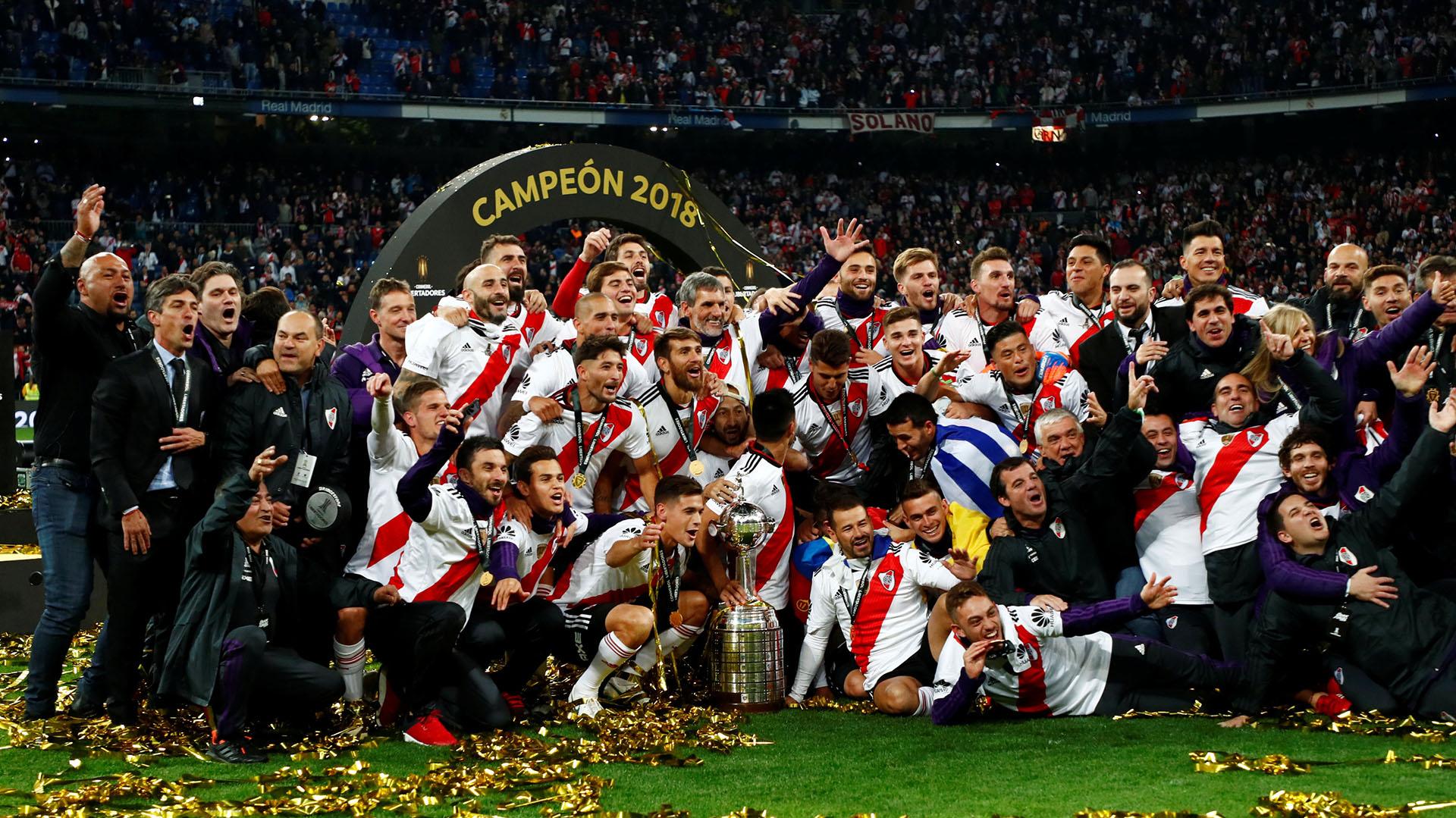 River campeón de la Copa Libertadores: le ganó a Boca en Madrid en una definición histórica - Infobae