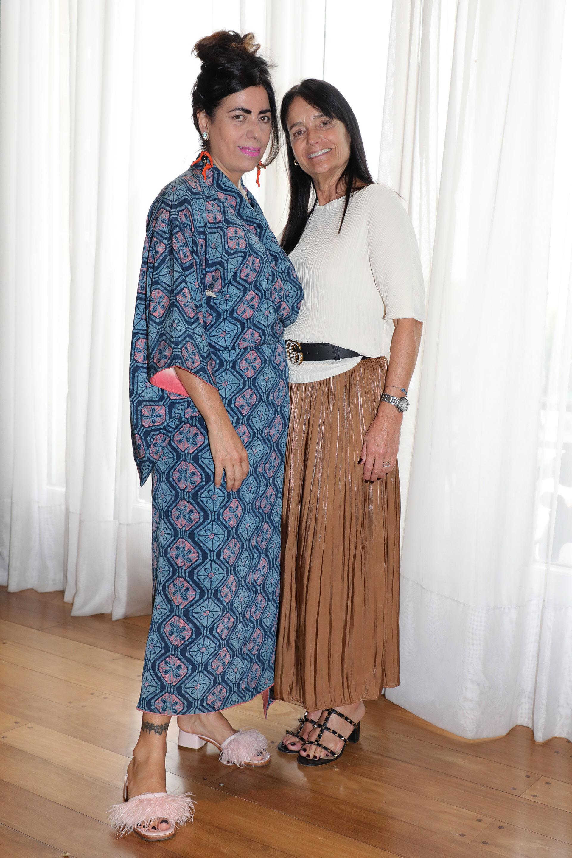 Naná Gallardo y Ángeles Cibeles