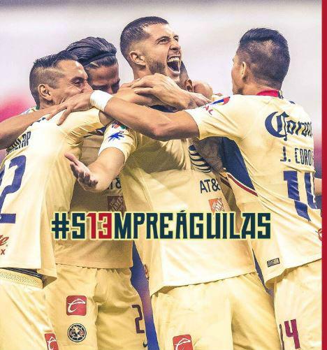 El equipo del América logró neutralizar a su contrincante y se pusieron de ventaja (Foto: Twitter clubamerica)