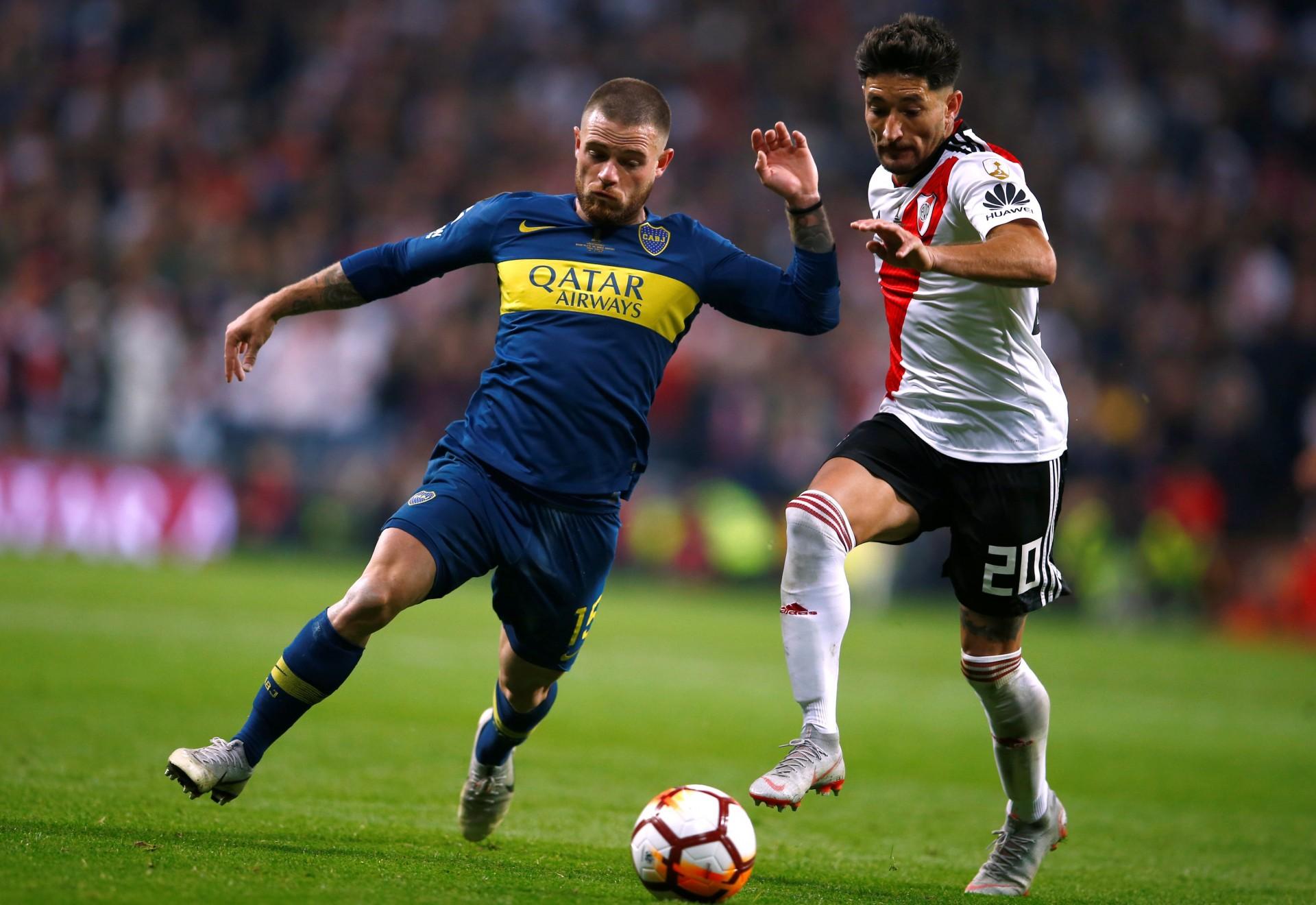 Boca y River pelean por el boleto a la Copa Libertadores 2020 (REUTERS)