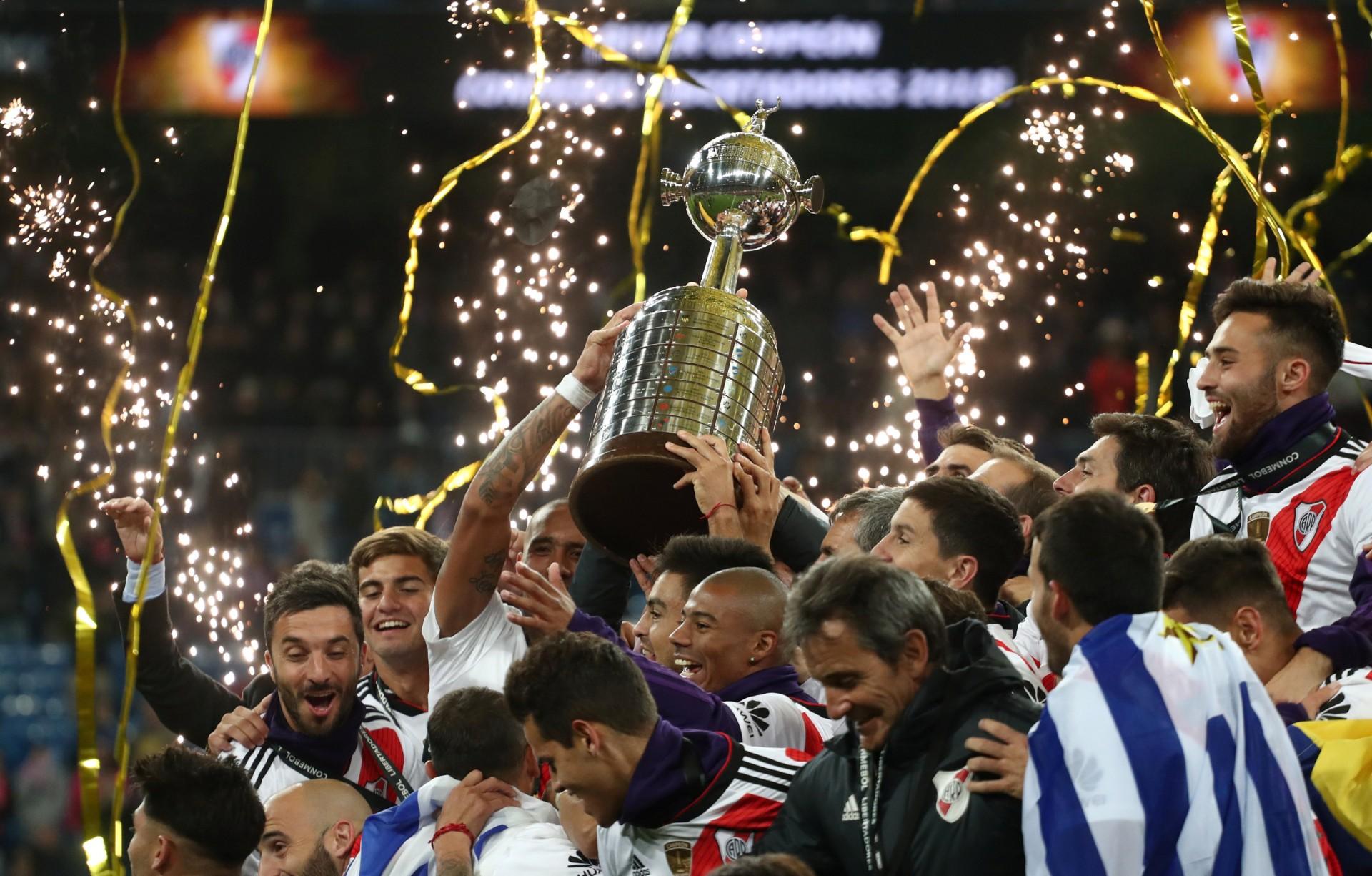River se consagró en la Copa Libertadores 2018 tras vencer a Boca (REUTERS)