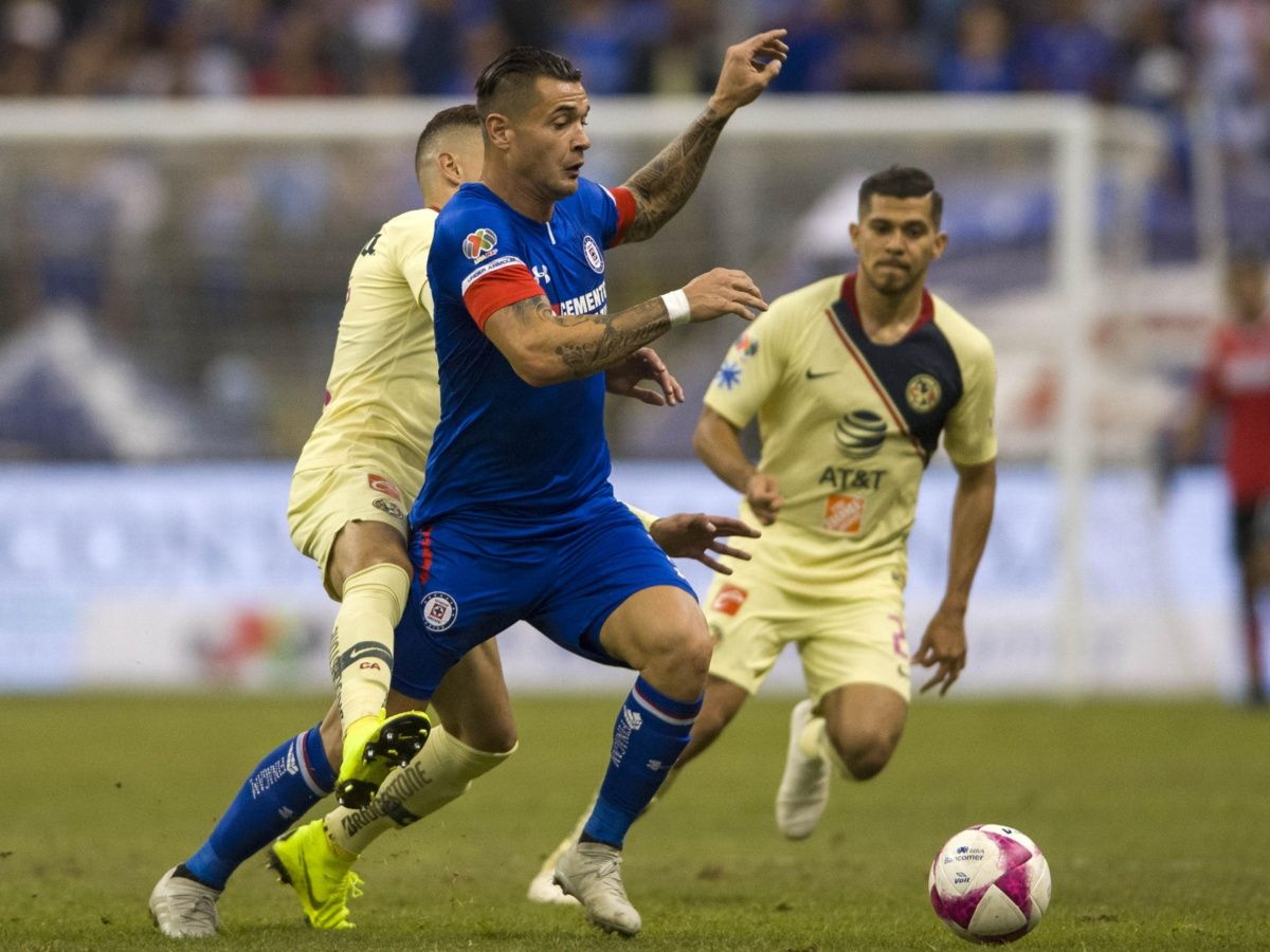 Milton Caraglio fue pieza clave durante la semifinal para que Cruz Azul llegara a nueva final (Foto: Mexsport)
