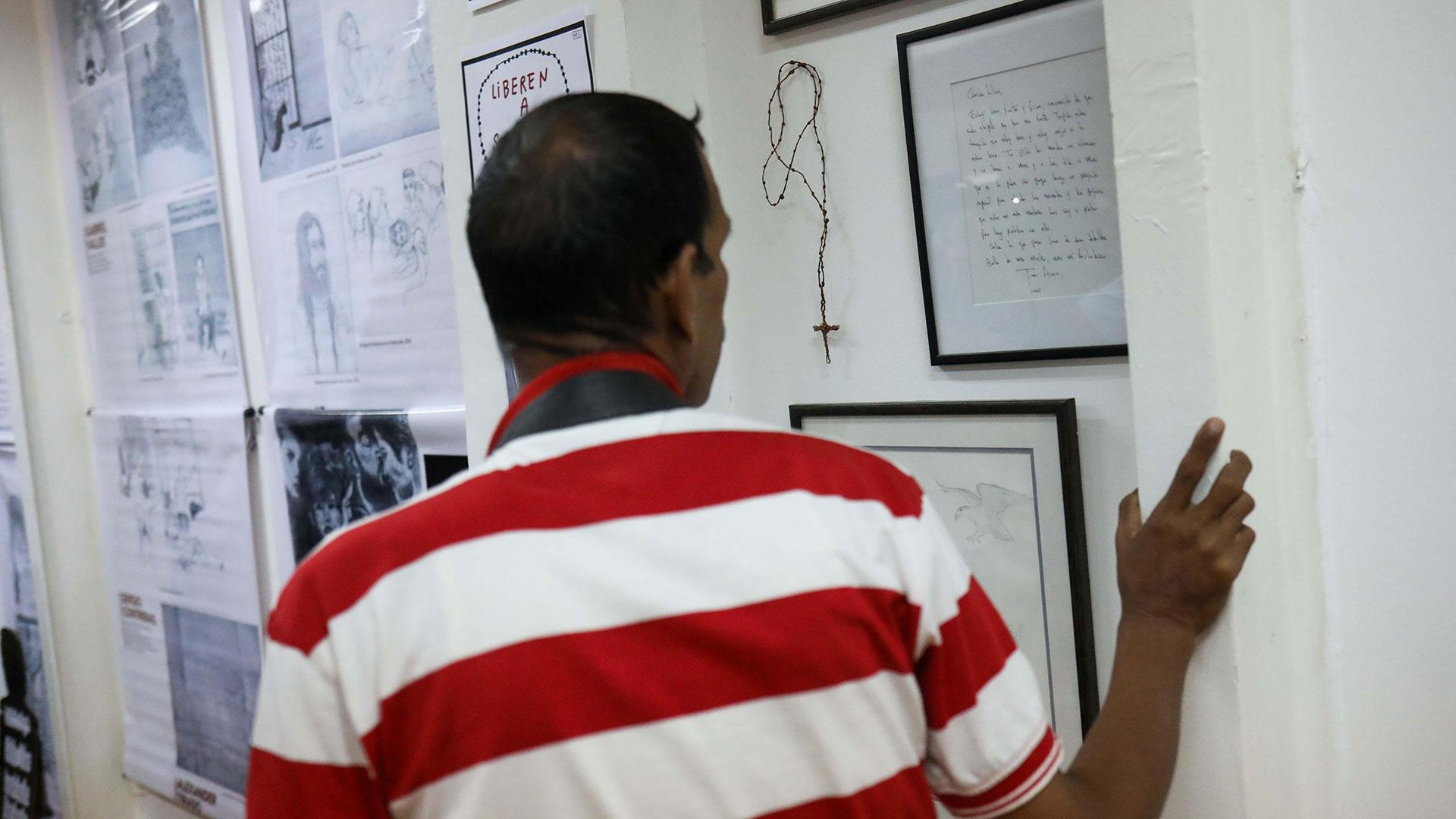 El objetivo es recordar y homenajear a los presos políticos y torturados en Venezuela (EFE)