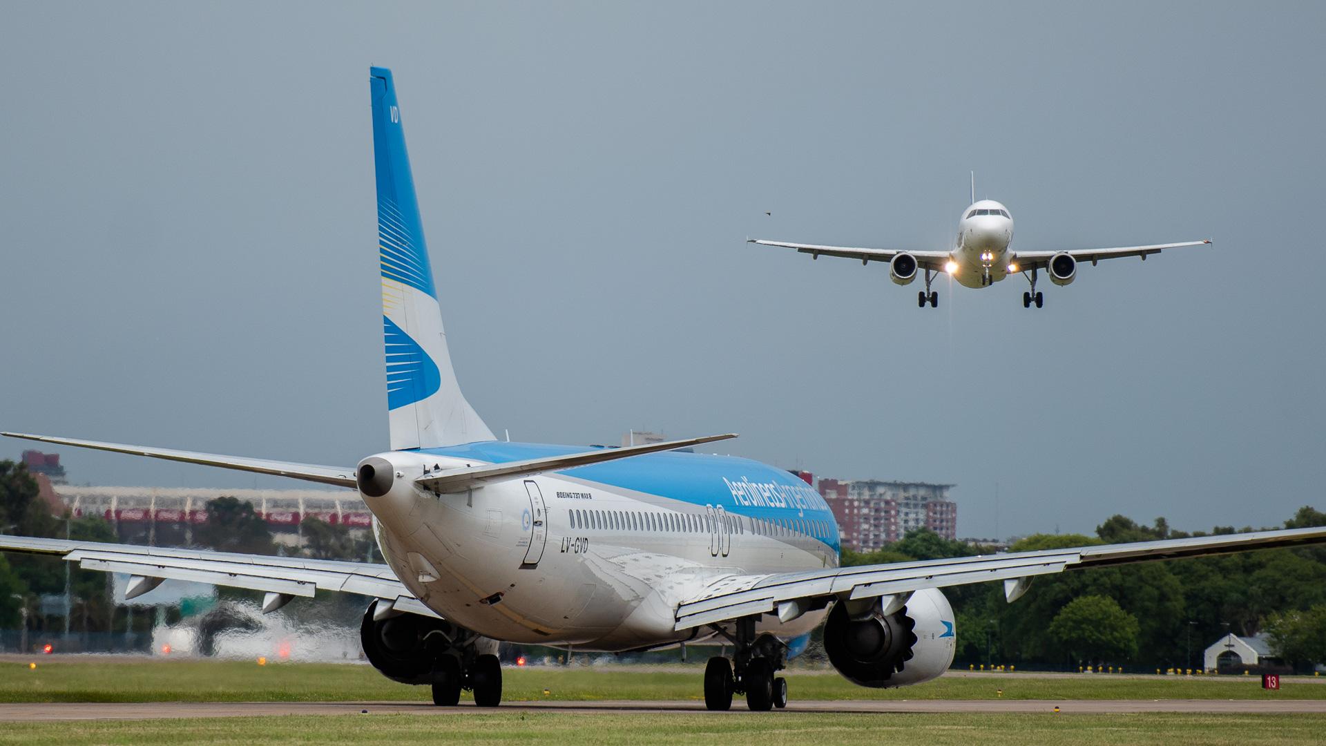 La cancelación de estos dos vuelos afecta a 300 pasajeros (foto de aarchivo: Adrián Escandar)