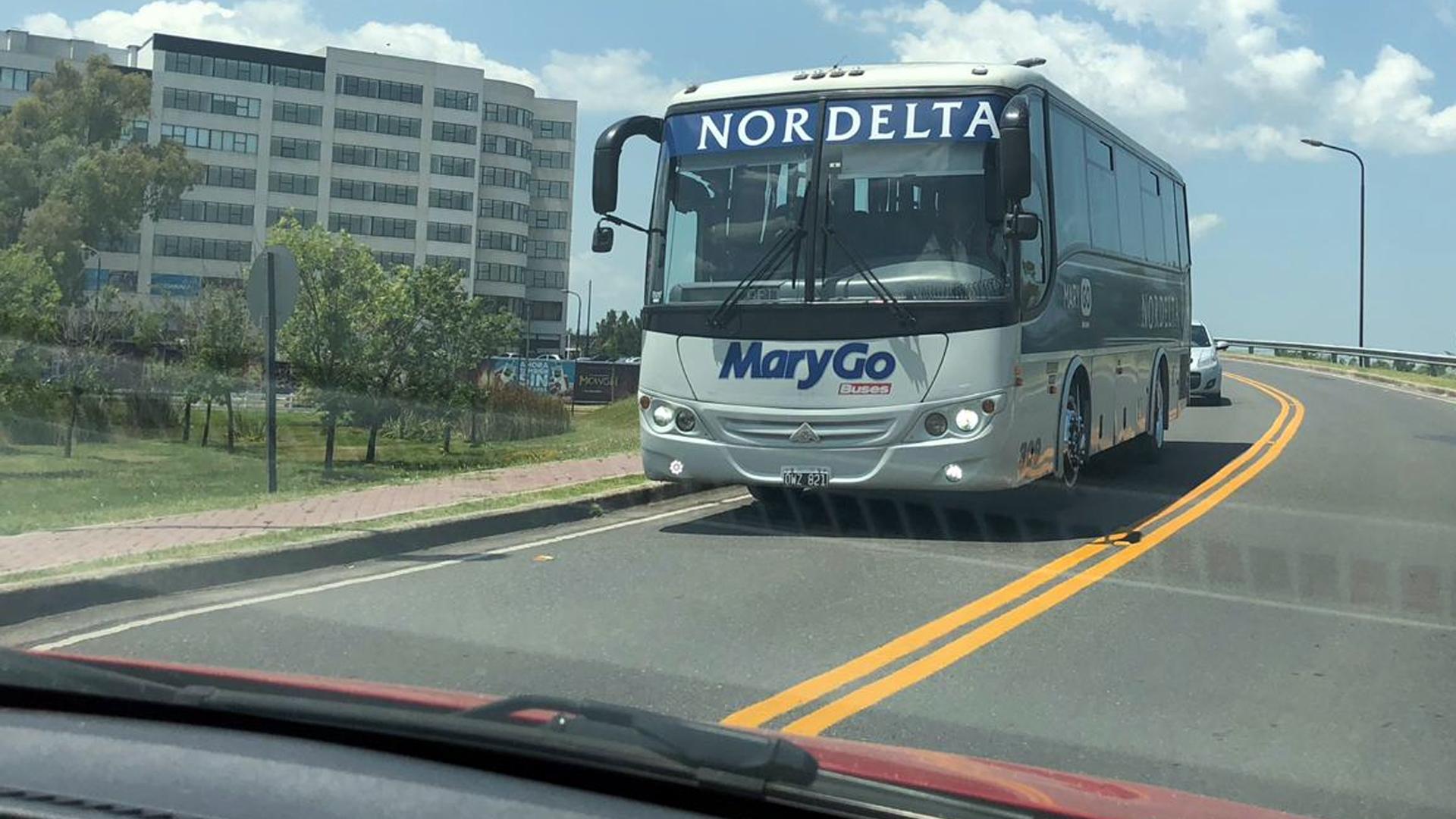 El transporte Mary Go seguirá siendo gratuito (Nicolás Quintela)