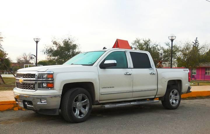 La camioneta de la alcaldesa apareció abandonada. (Foto: Fiscalía de Coahuila)