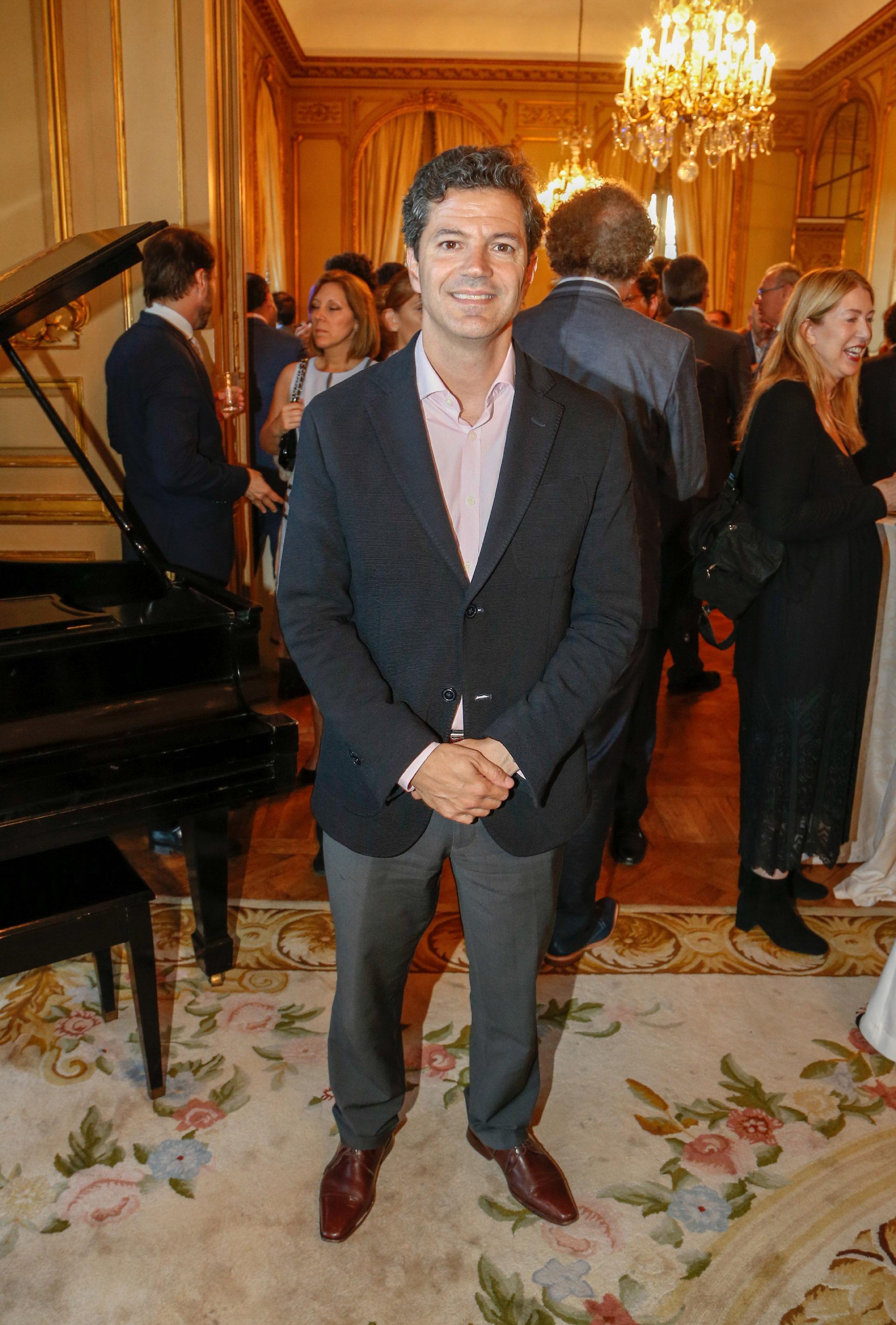 El diputado Luciano Laspina