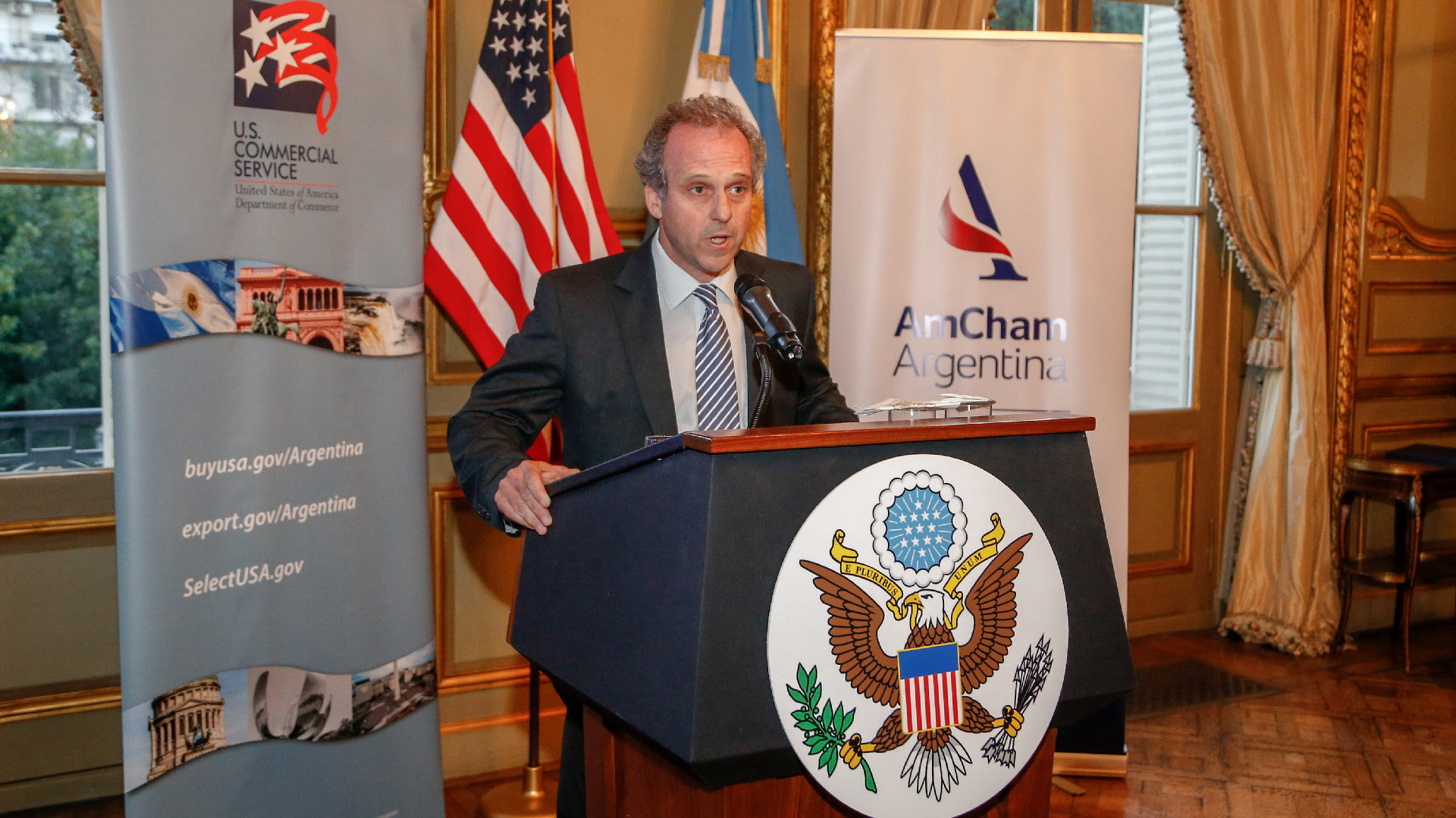 Roberto Alexander, nuevo presidente de la AmCham Argentina (general manager de IBM en la Argentina)