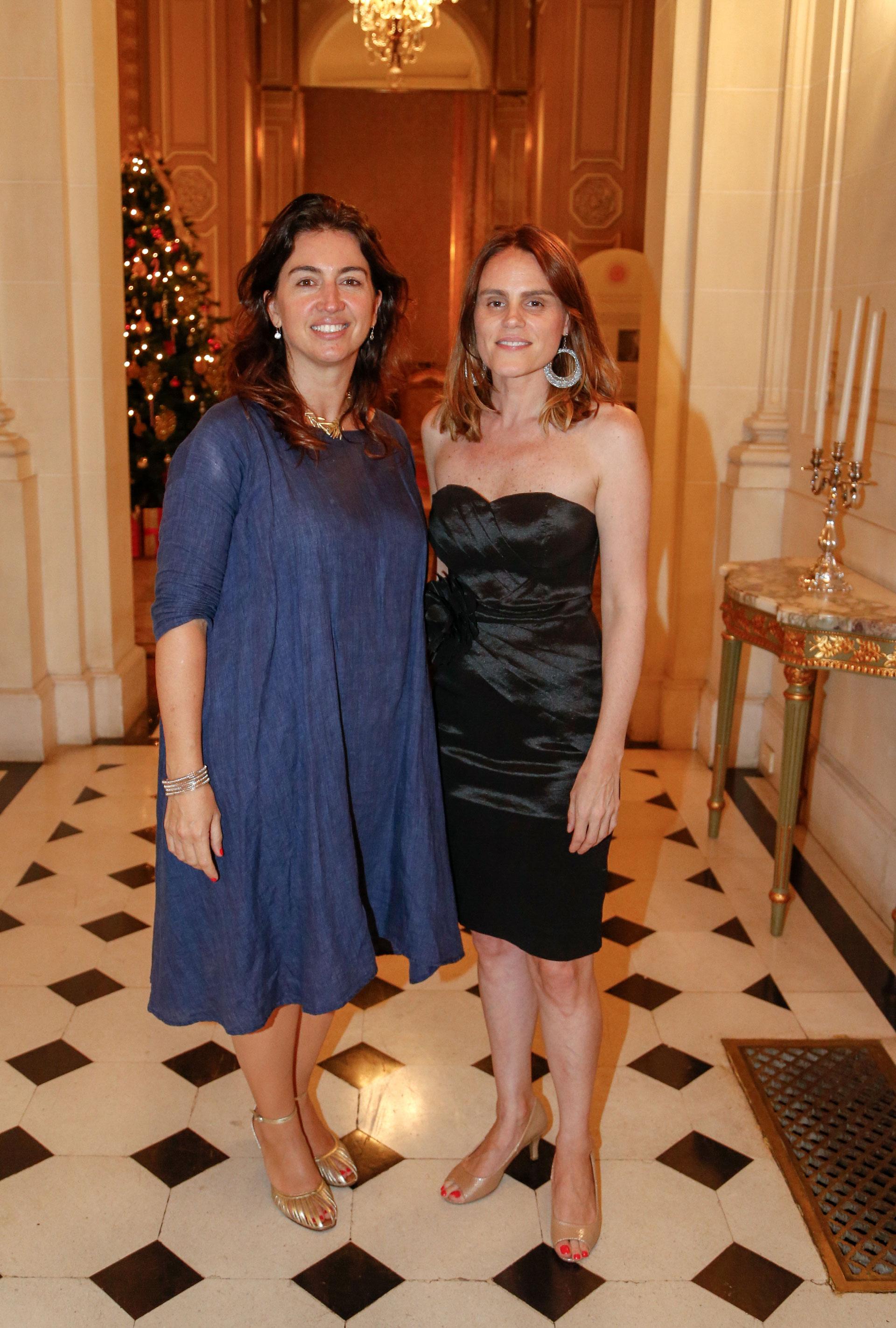 Daniela Martín, directora de Gestión, y Marina Reynal, gerente de Marketing de la AmCham Argentina