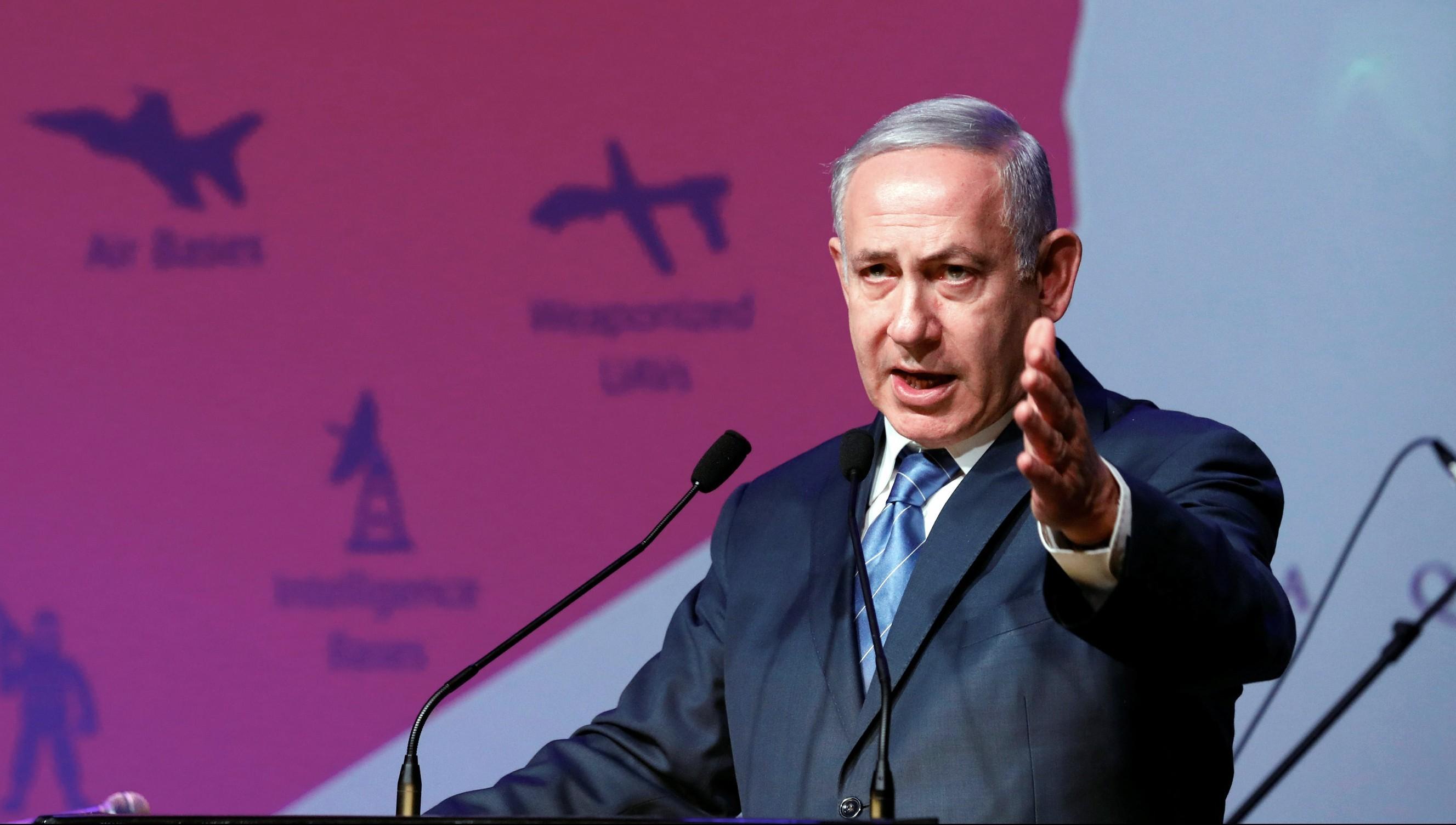 Benjamin Netanyahu (REUTERS/Amir Cohen)