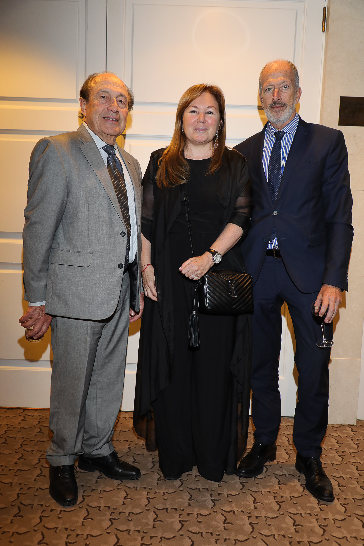 Carlos Spadone, Marisa Koifman y Jorge Knoblovits
