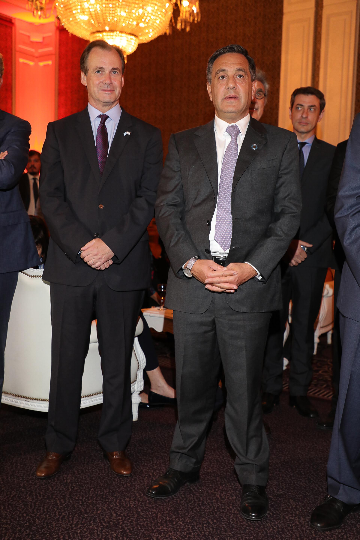Gustavo Bordet y Alejandro Finocchiaro