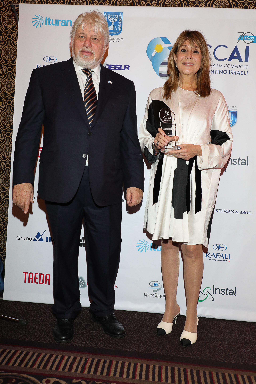 Adrián Werthein y Fabiana Ricagno