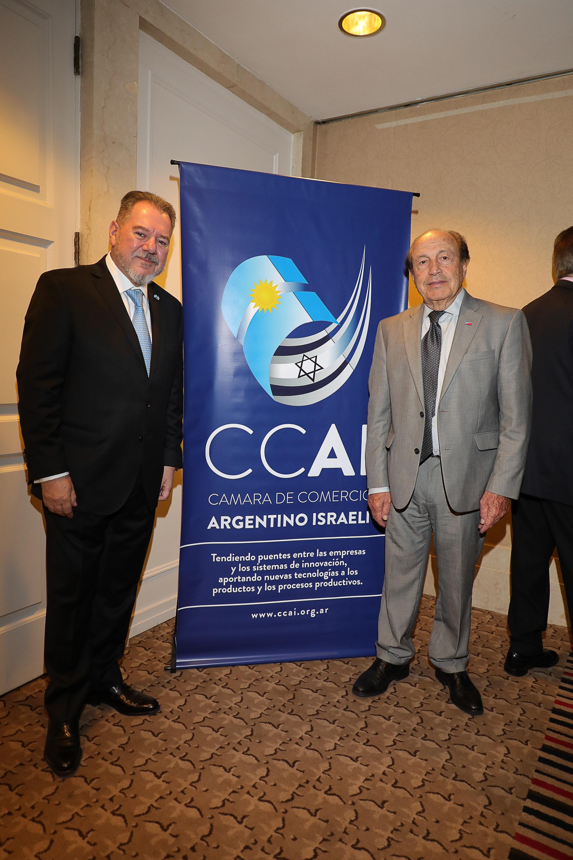 Mario Montoto y Carlos Spadone