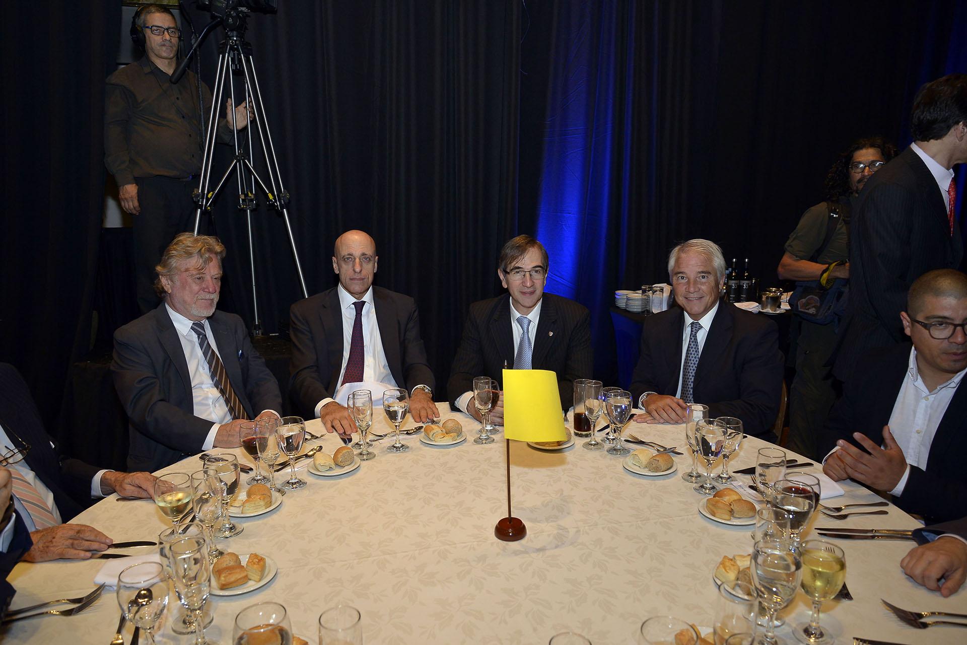 Ricardo Kirschaum, Carlos Pagni, Pedro López Matheu y Pablo Deluca