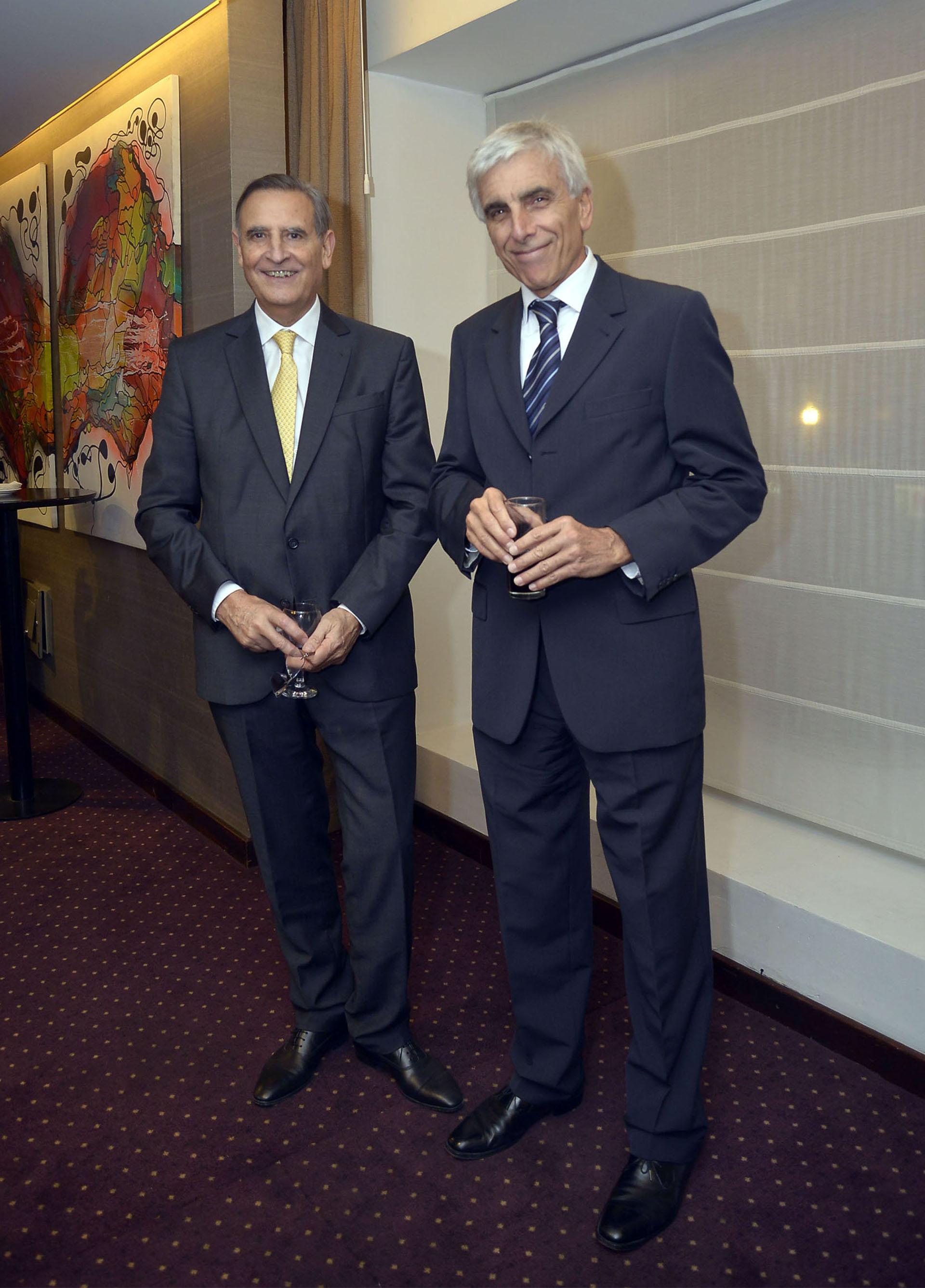 Hector Aranda y Jorge Rendo (Clarín)