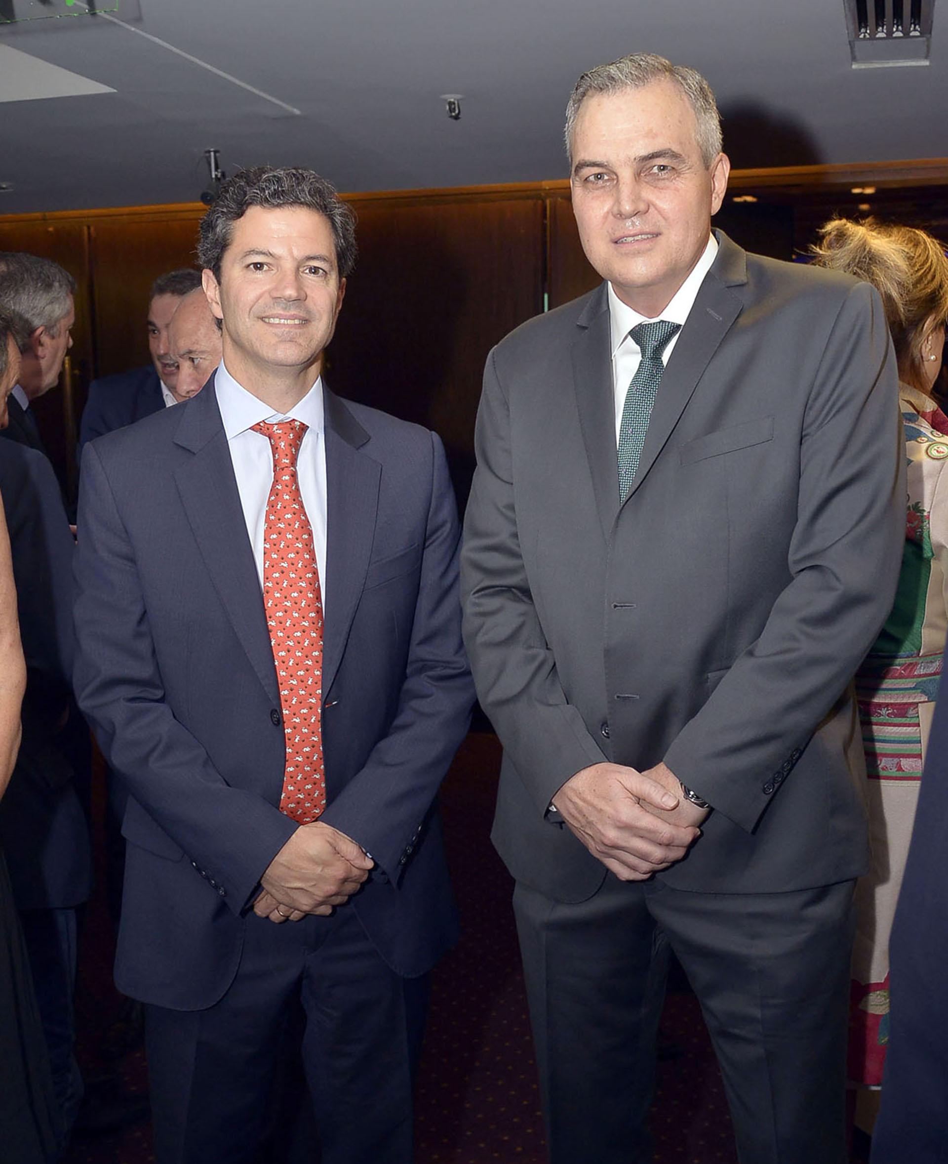 Luciano Laspina y Gustavo Ick (El Liberal)
