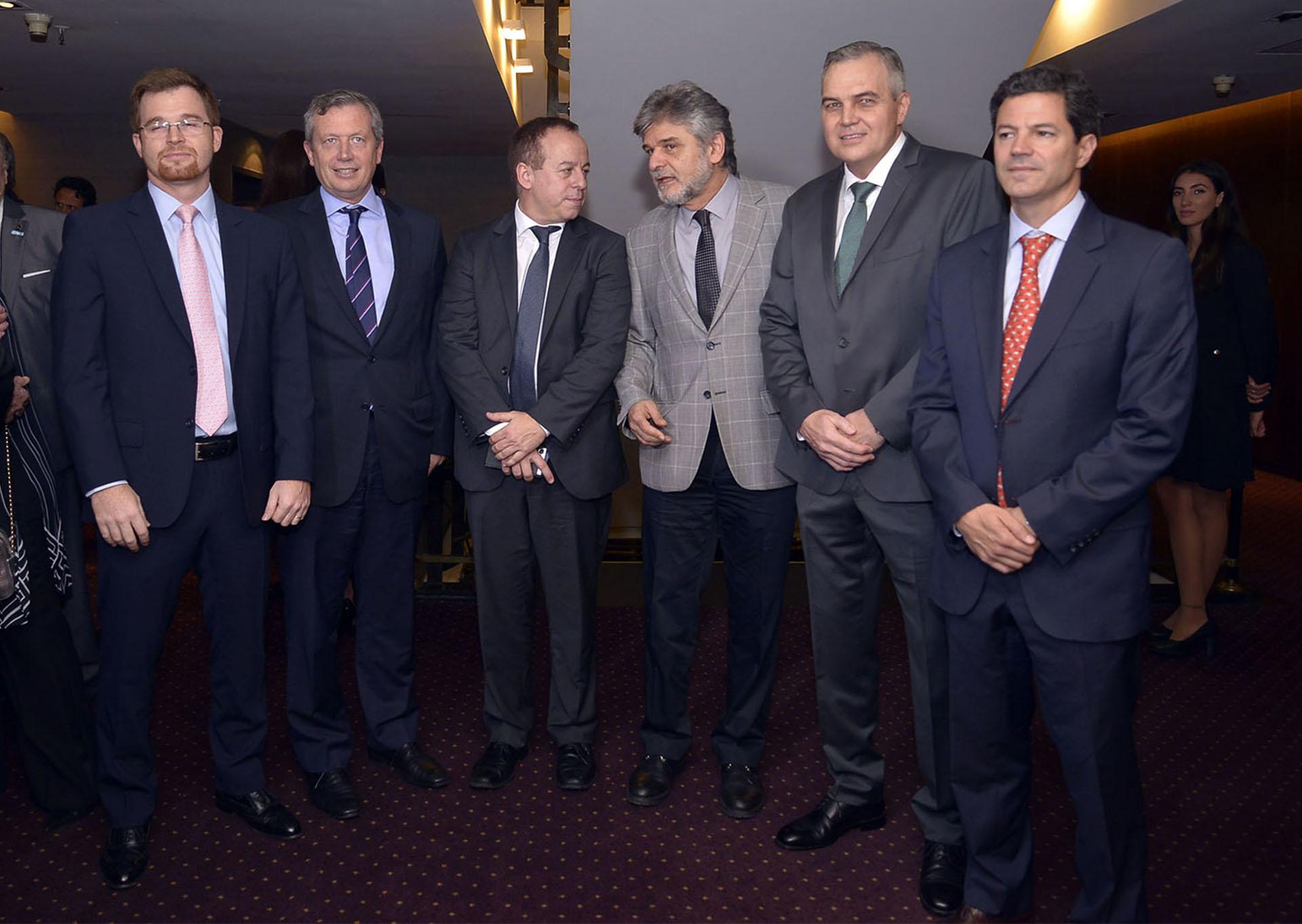 Nicolás Massot; Emilio Monzó; Martín Etchevers; Daniel Filmus; Gustavo Ick; Luciano Laspina