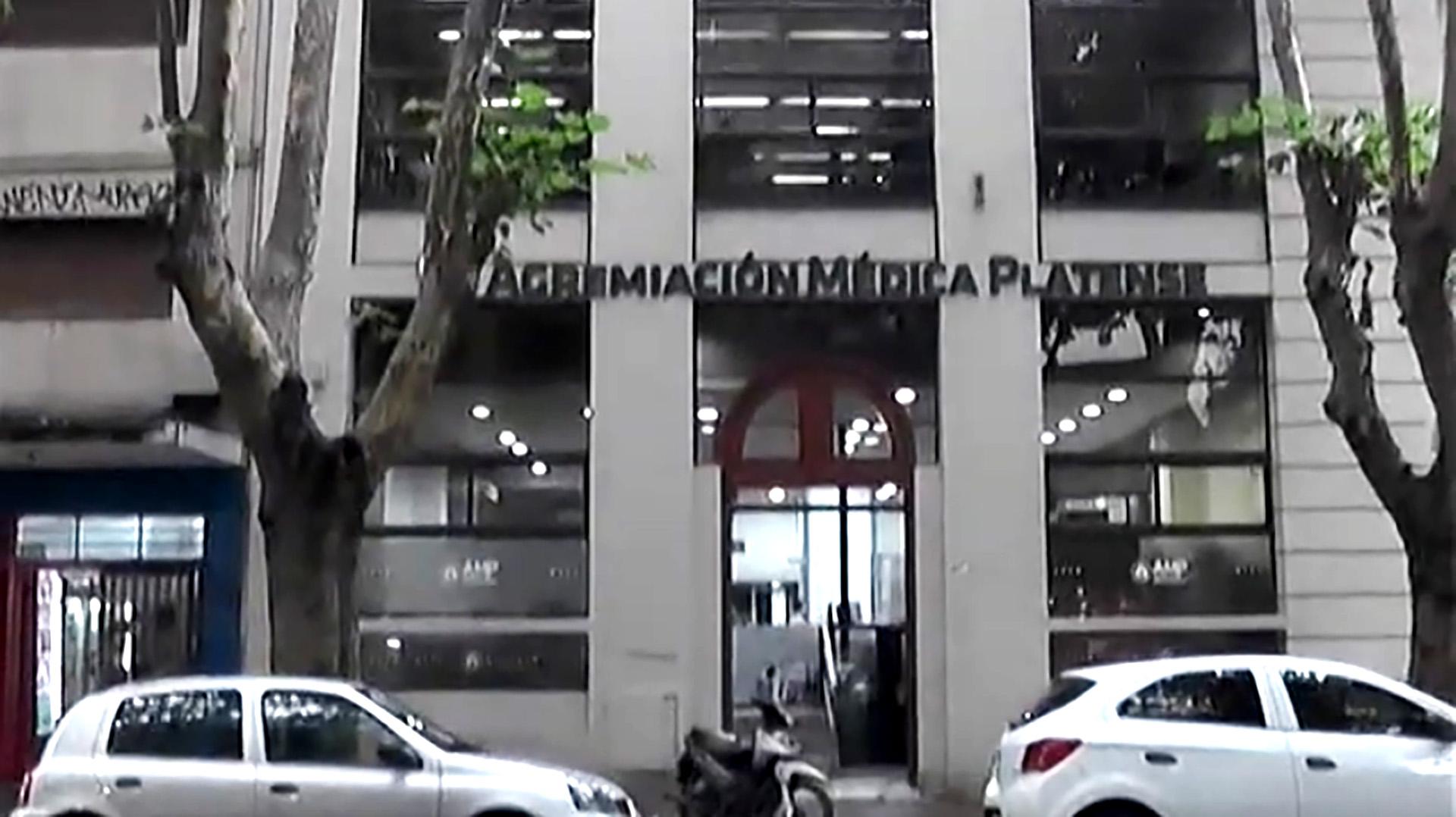 Agremiación Médica Platense, una de las que tiene convenio con IOMA en la Pcia. de Buenos Aires