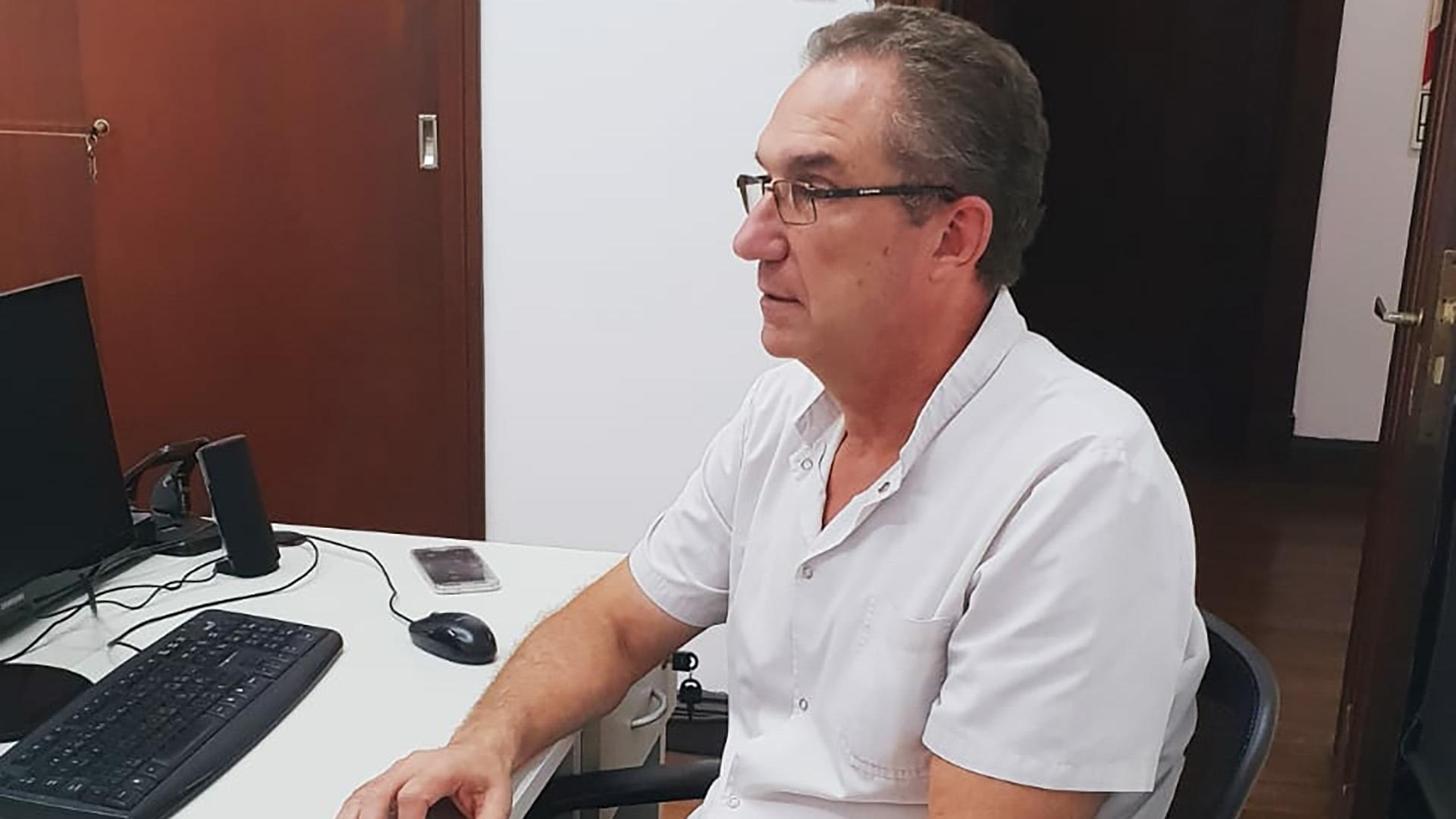 Eduardo Martiarena, traumatólogo y dirigente de CEMIBO, que agrupa a 7 asociaciones médicas.