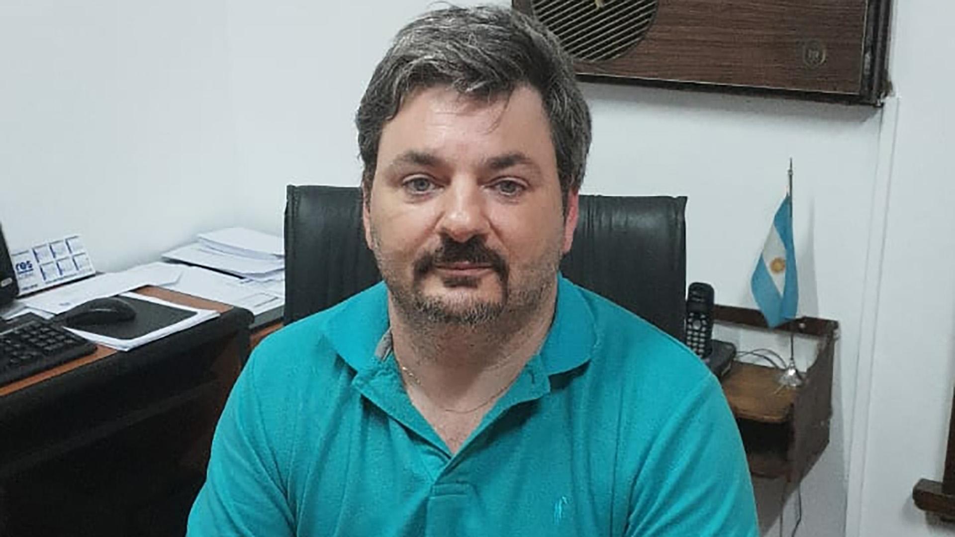 Patricio Flaherty, secretario de la Agremiacion Medica Platense, reclaman por el nomenclador