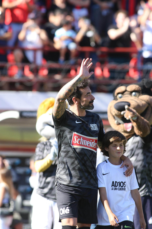 El Pocho Lavezzi volvió al club en el que fue campeón en 2007 (Matías Souto)