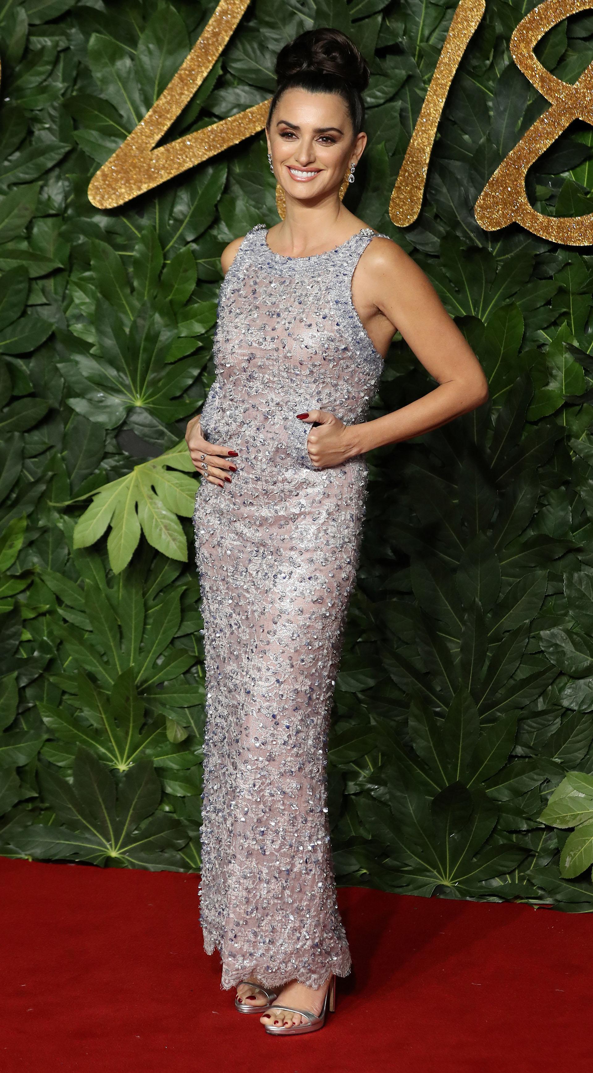 Penélope Cruz y un vestido con el que no pasó desapercibida