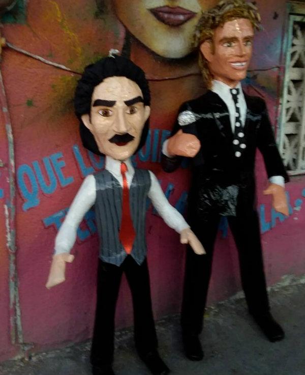 Luisito Rey y Luis Miguel, al estilo de la Piñatería Ramírez