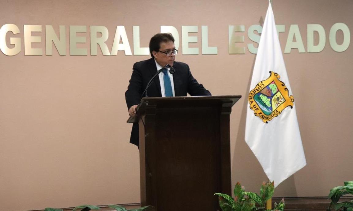 Gerardo Márquez Guevara, Fiscal General del Estado de Coahuila (Foto: @jesusflom)