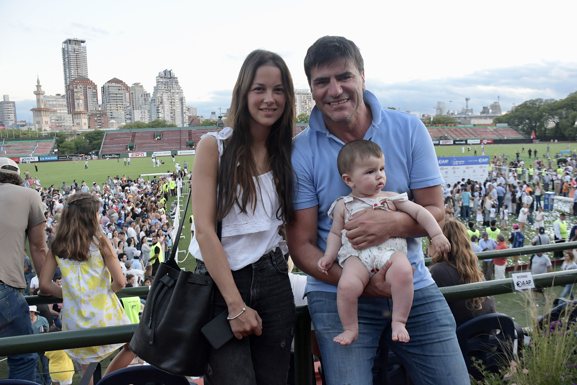 Martín Barrantes, Kateryna Wurzel y su hijo Felipe