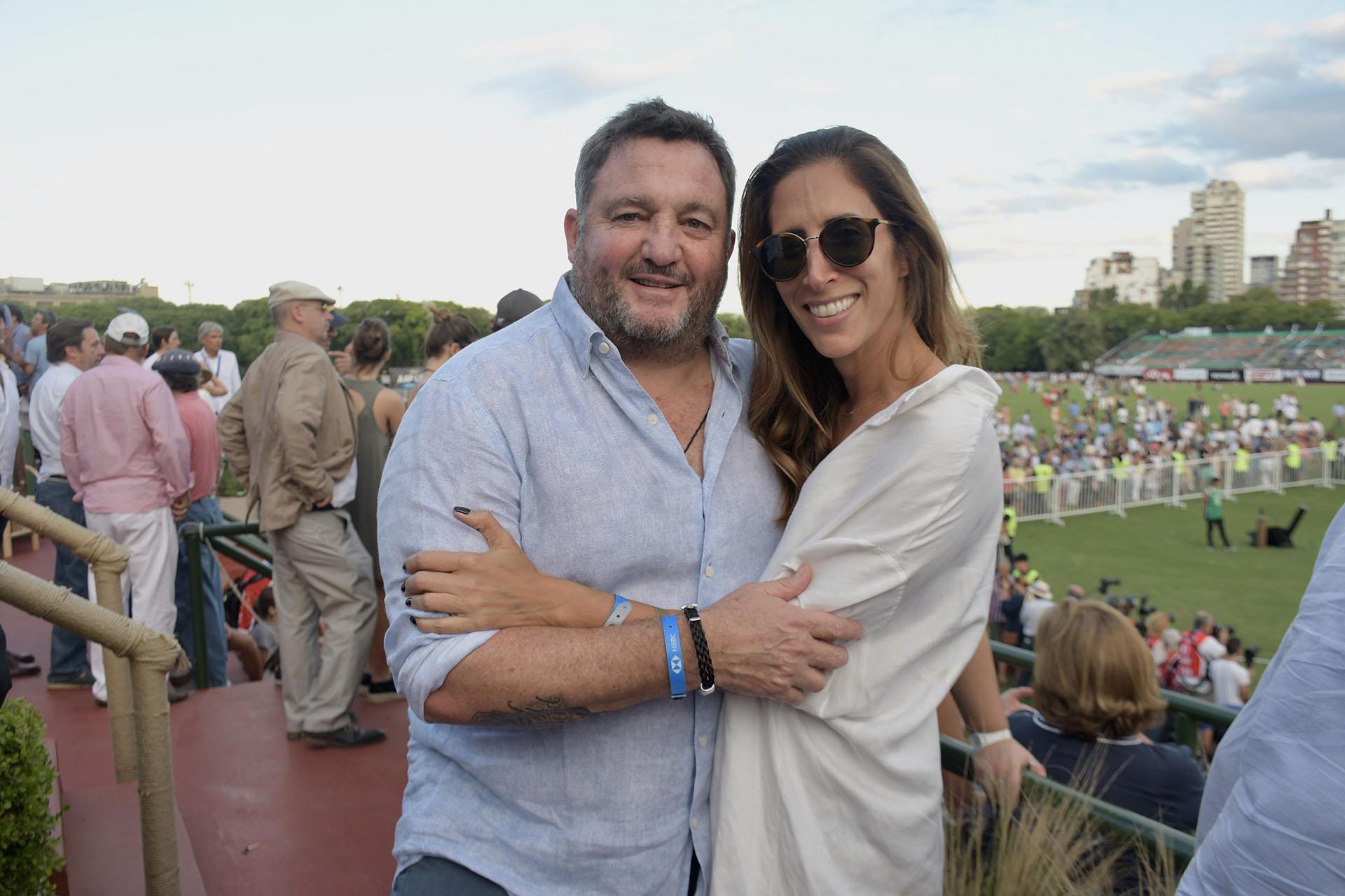 Alejandro Macfarlane y Florencia Perotti