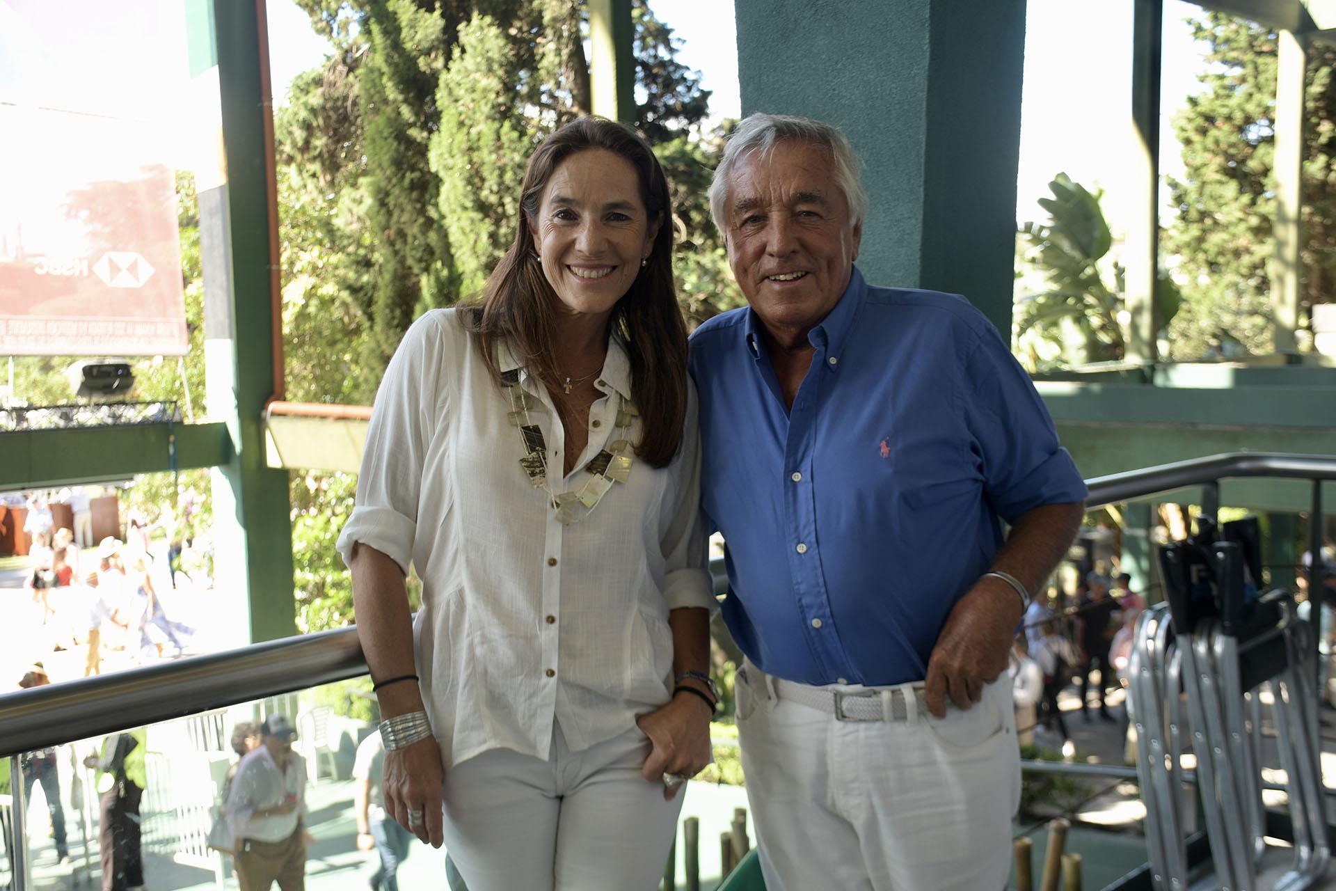 El presidente del Gruppo Modena, Julio De Marco, y su pareja Majo Martínez de Sanzo