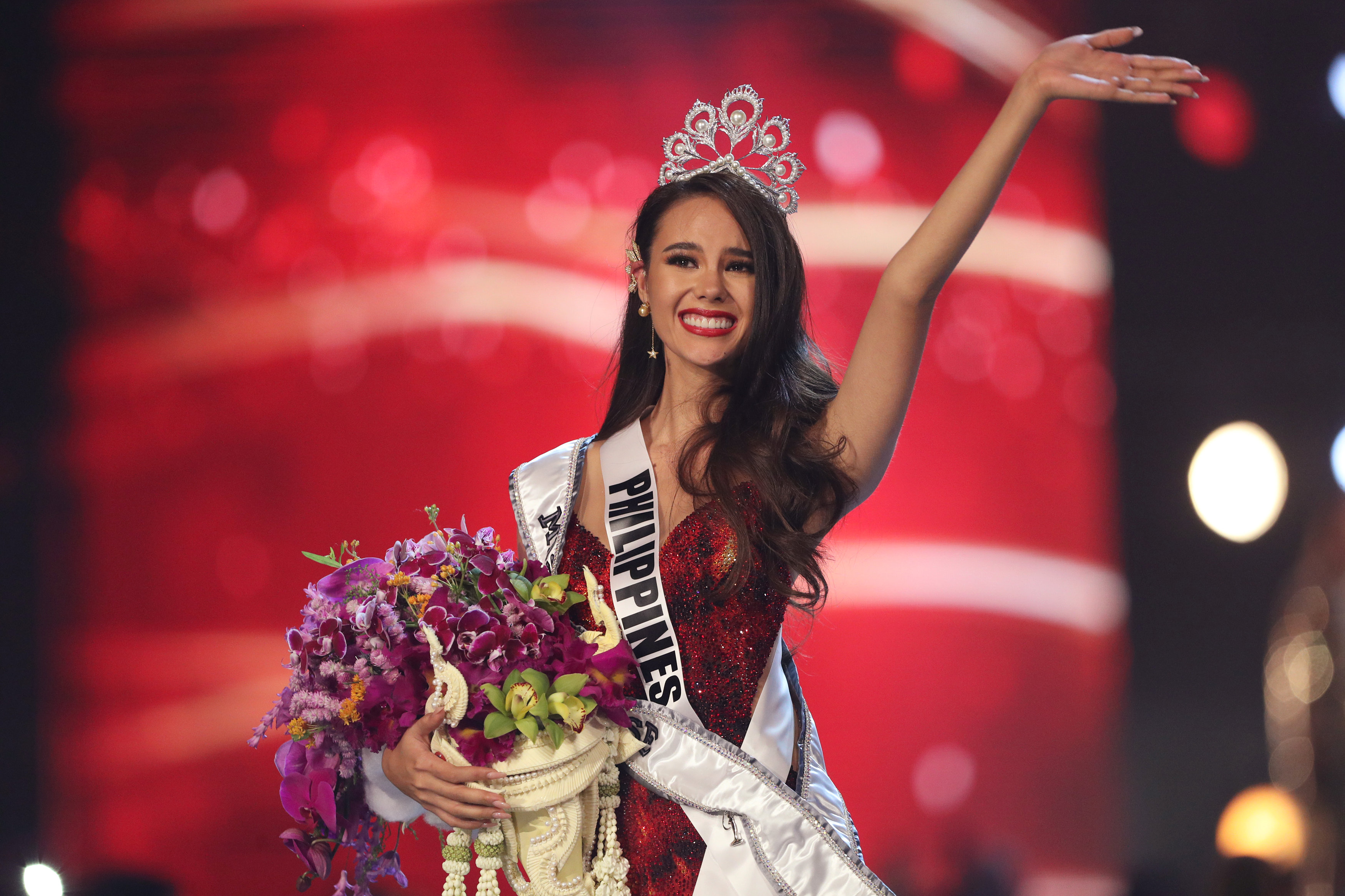 Con la victoria de Catriona Gray, Filipinas suma cuatro coronas del certamen (REUTERS/Athit Perawongmetha)
