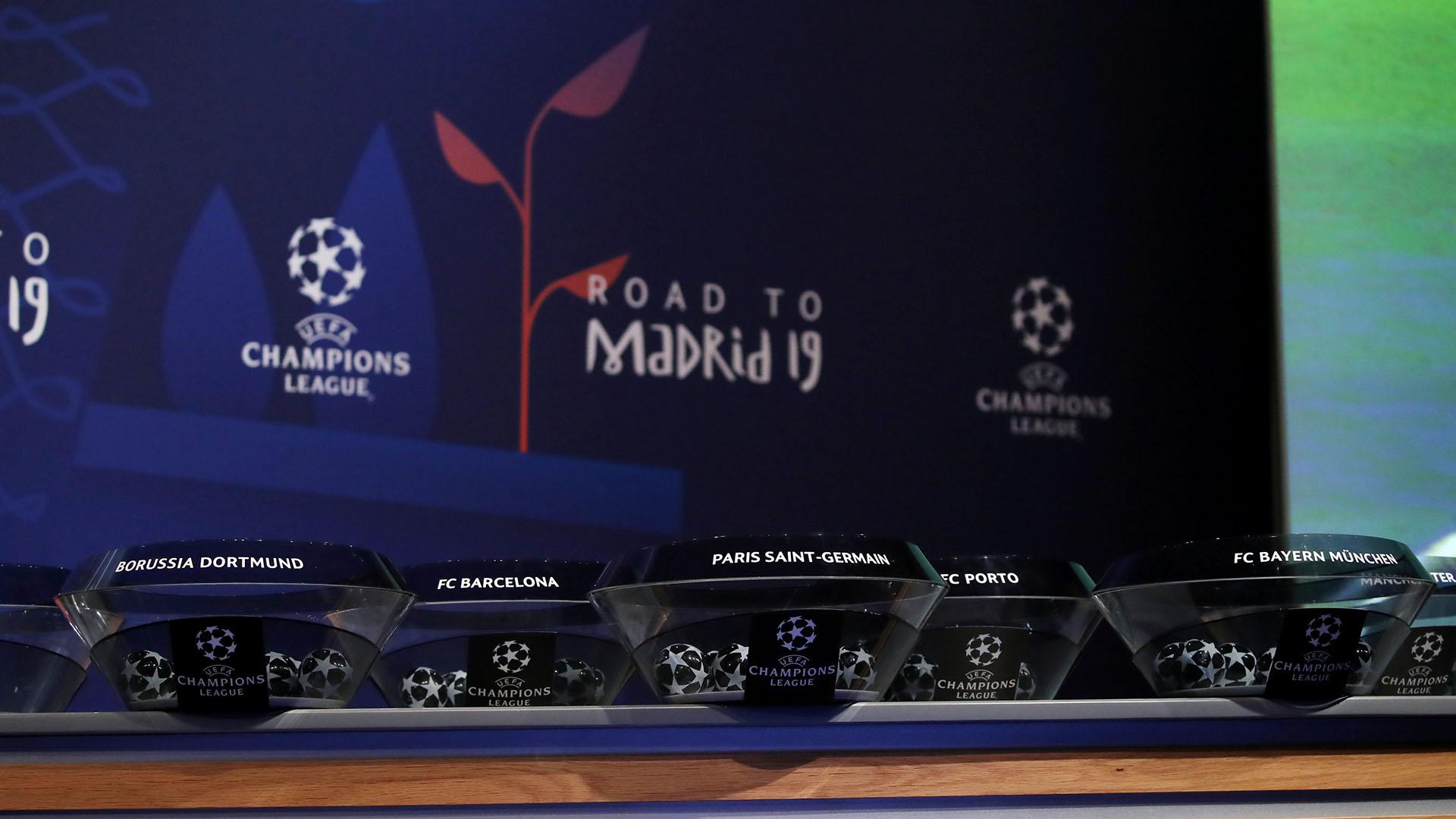 No habrá cabezas de serie ni protección por país,todos los cruces son posibles en los cuartos de final de la Champions League(REUTERS/Denis Balibouse)