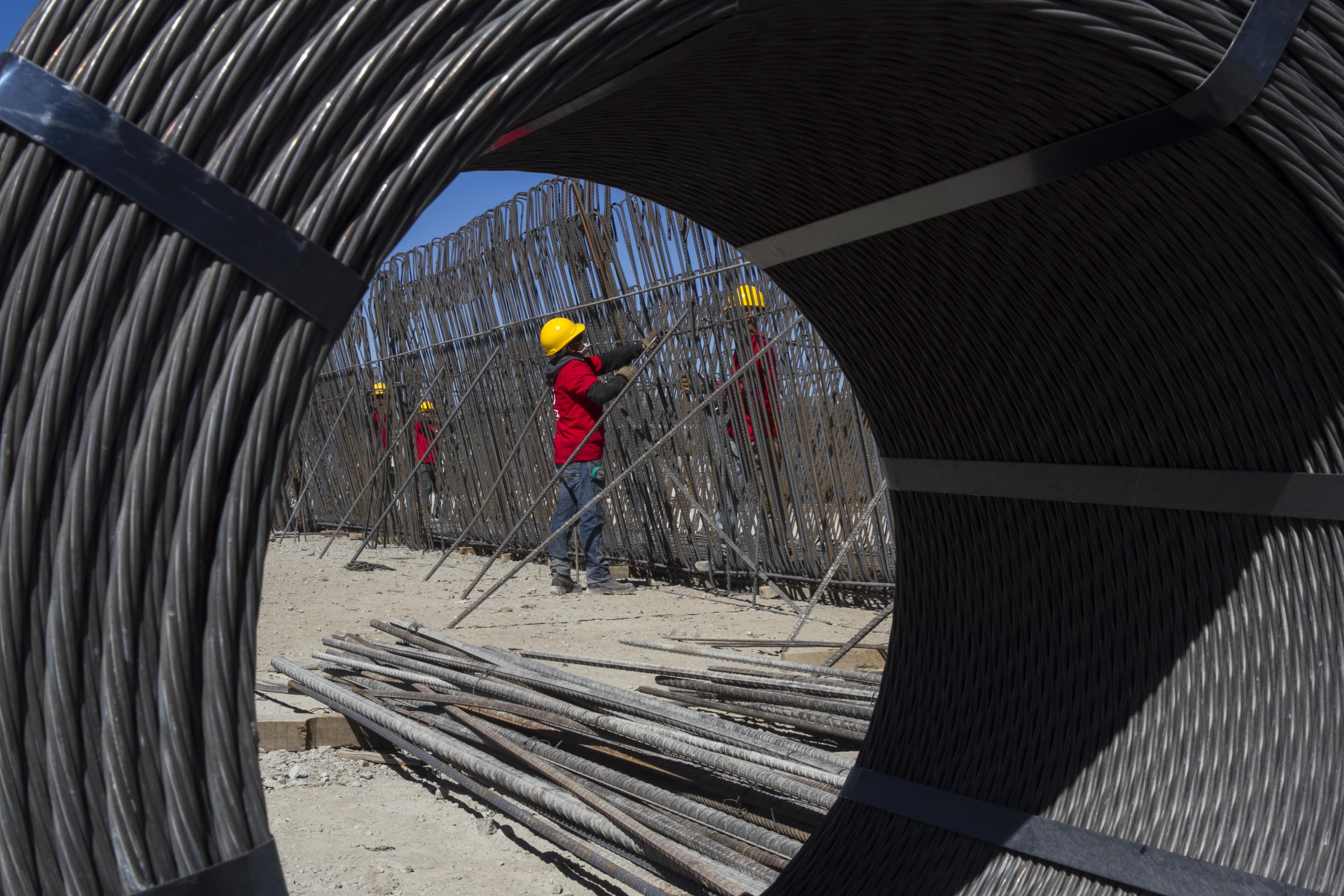 El desagregado de la construcción en el EMAE cayó un 4,7% respecto del año pasado