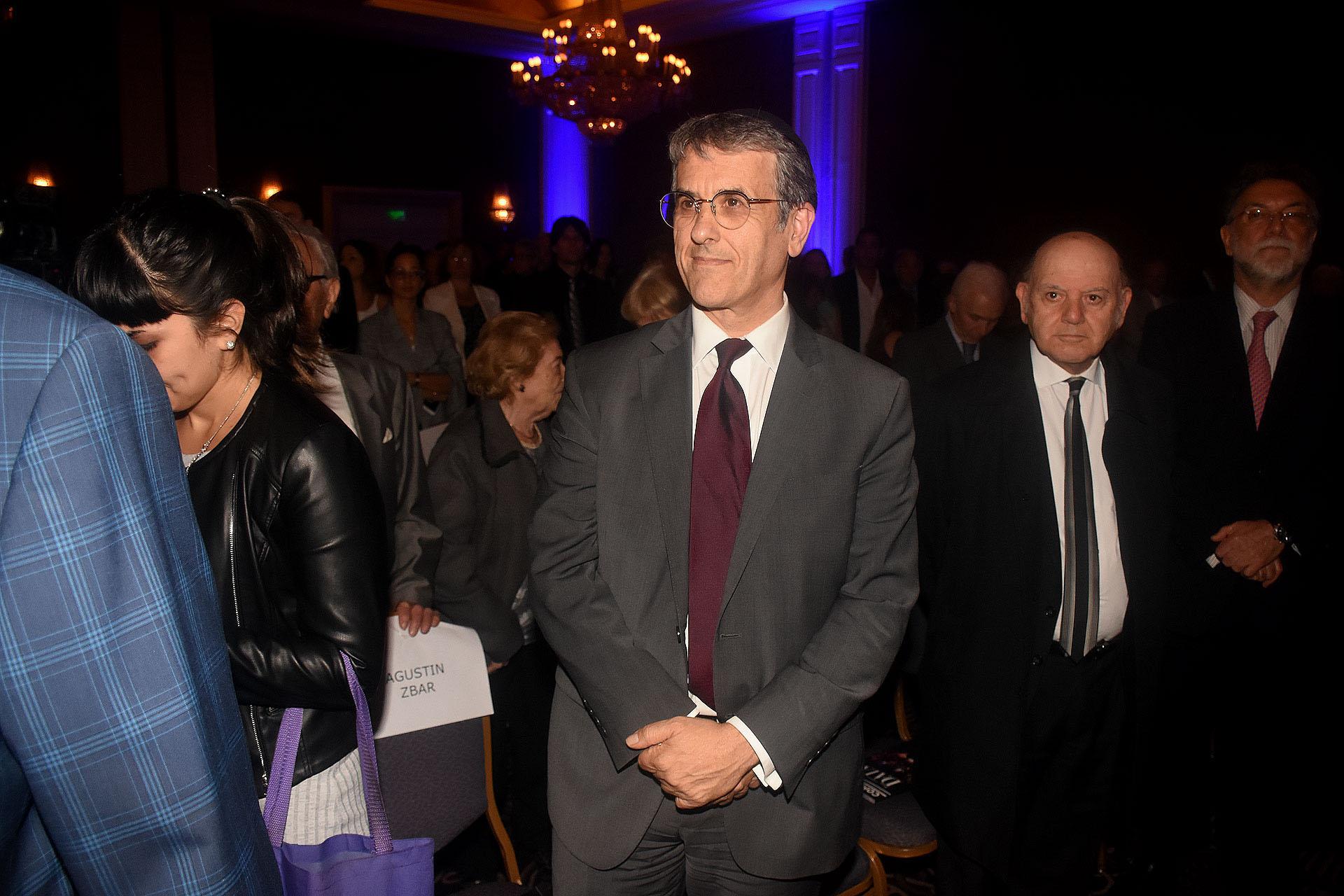 El presidente de la AMIA, Agustín Zbar