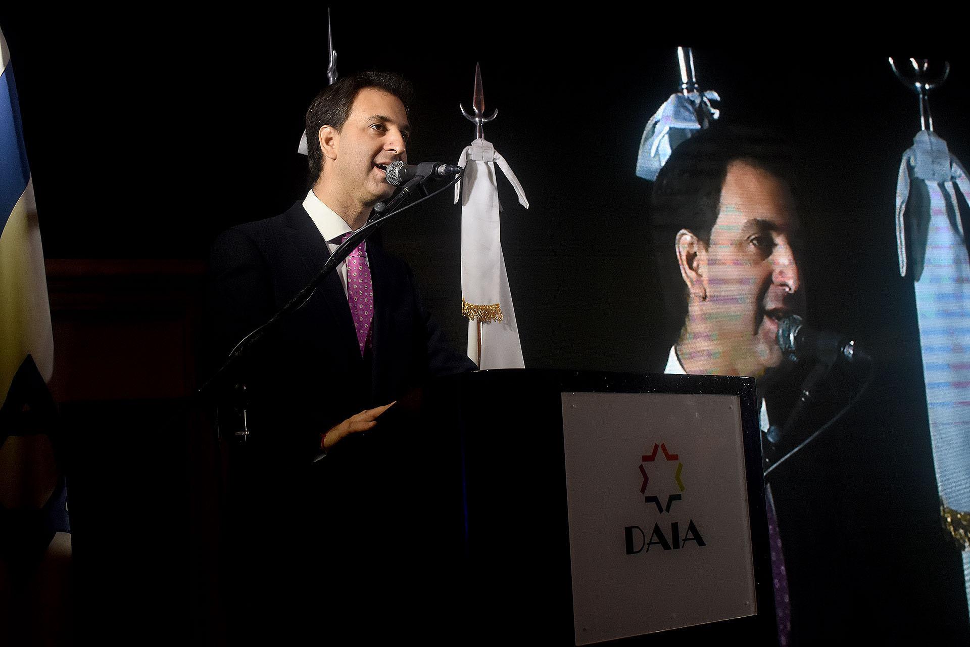 Victor Garelik, director ejecutivo de DAIA