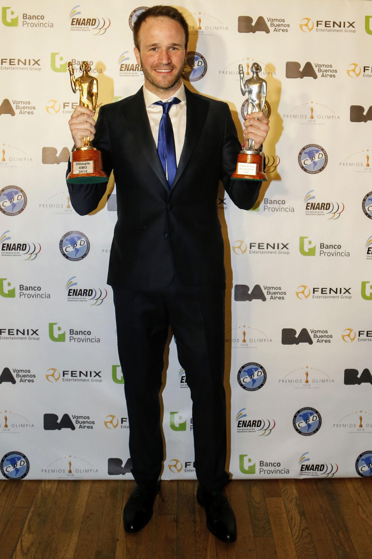 El piloto Agustín Canapino fue el ganador Olimpia de Oro
