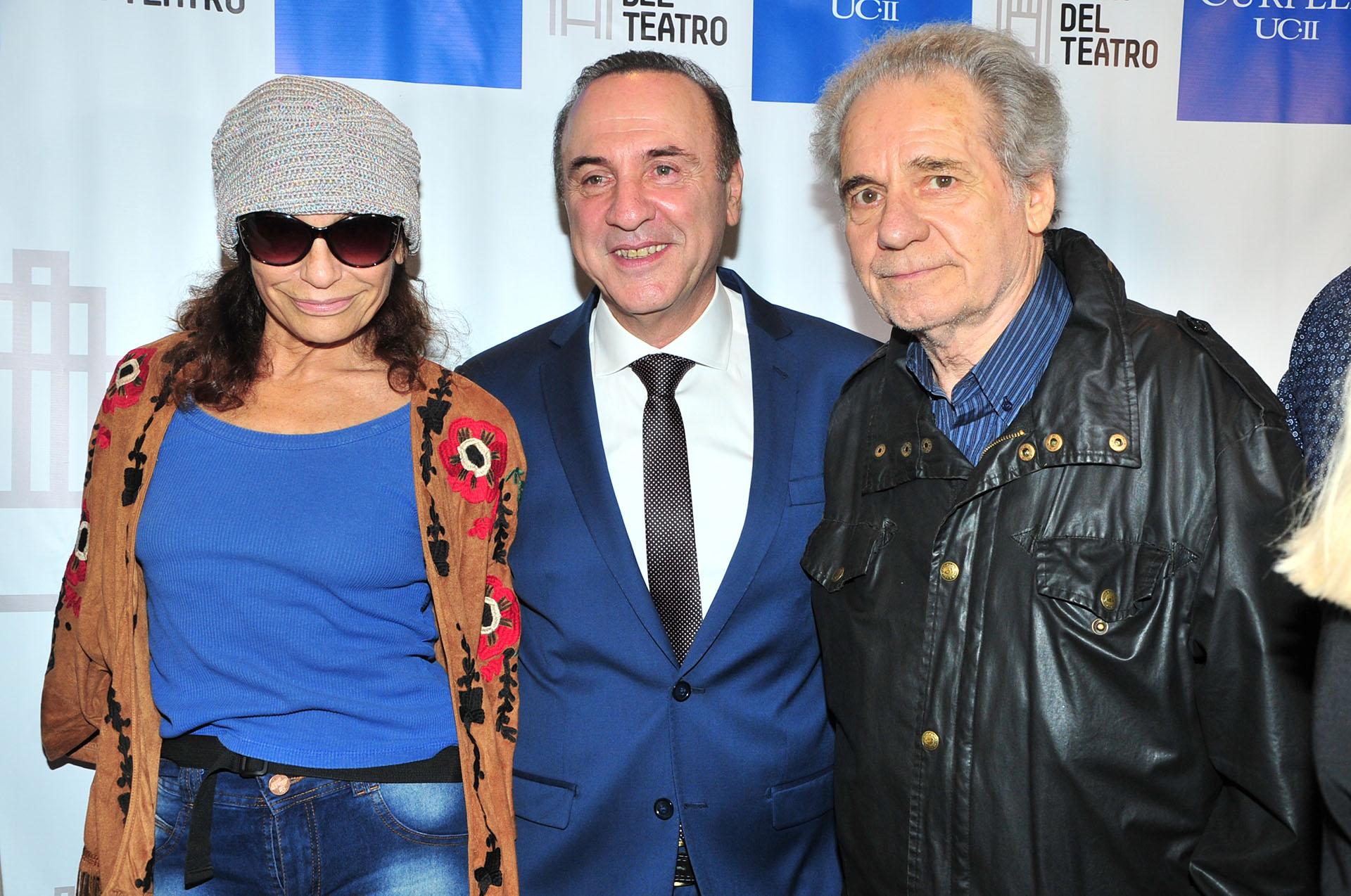 Edda Bustamante, Norberto Furman y Hugo Arana