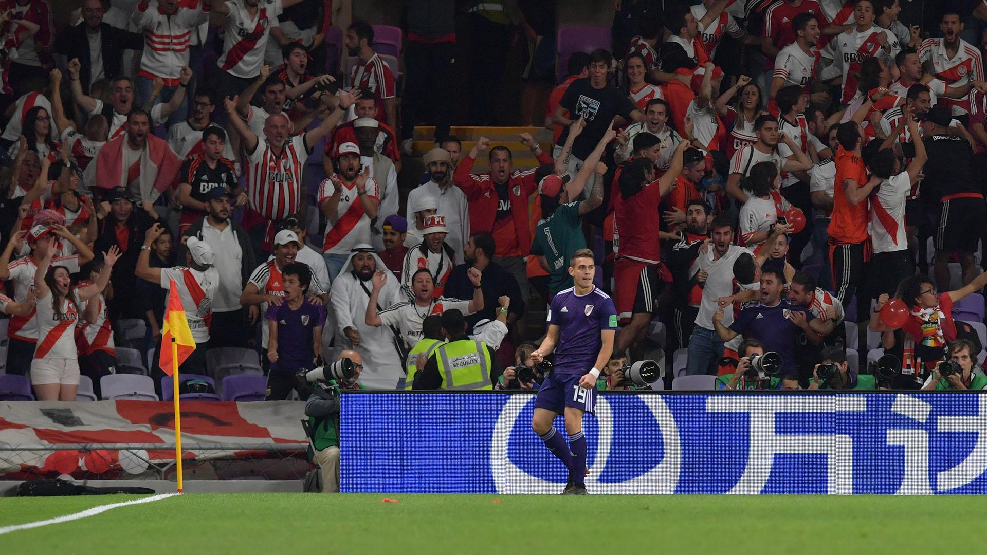 El colombiano Santos Borré fue el autor de los dos goles de River