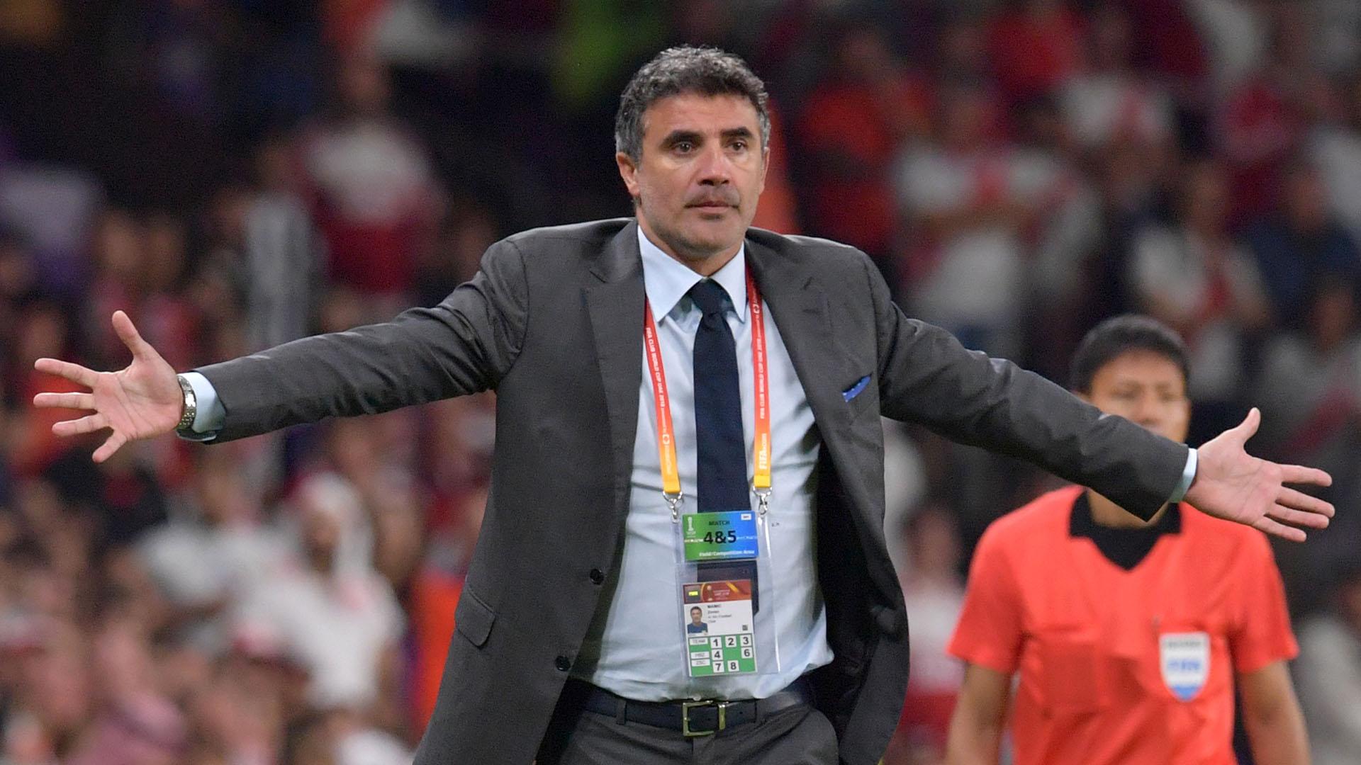 Zoran Mamic, entrenador del Al Ain de Emiratos Árabes