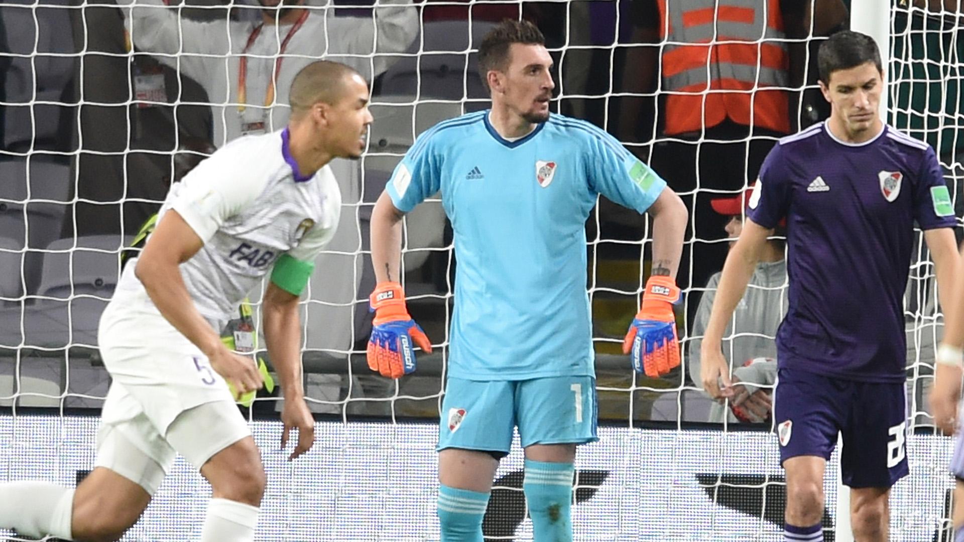 """El """"Millonario"""" no pasó de la igualdad con el equipo anfitrión en los 120 minutos: fue 2-2 en el estadio Hazza bin Yazed"""