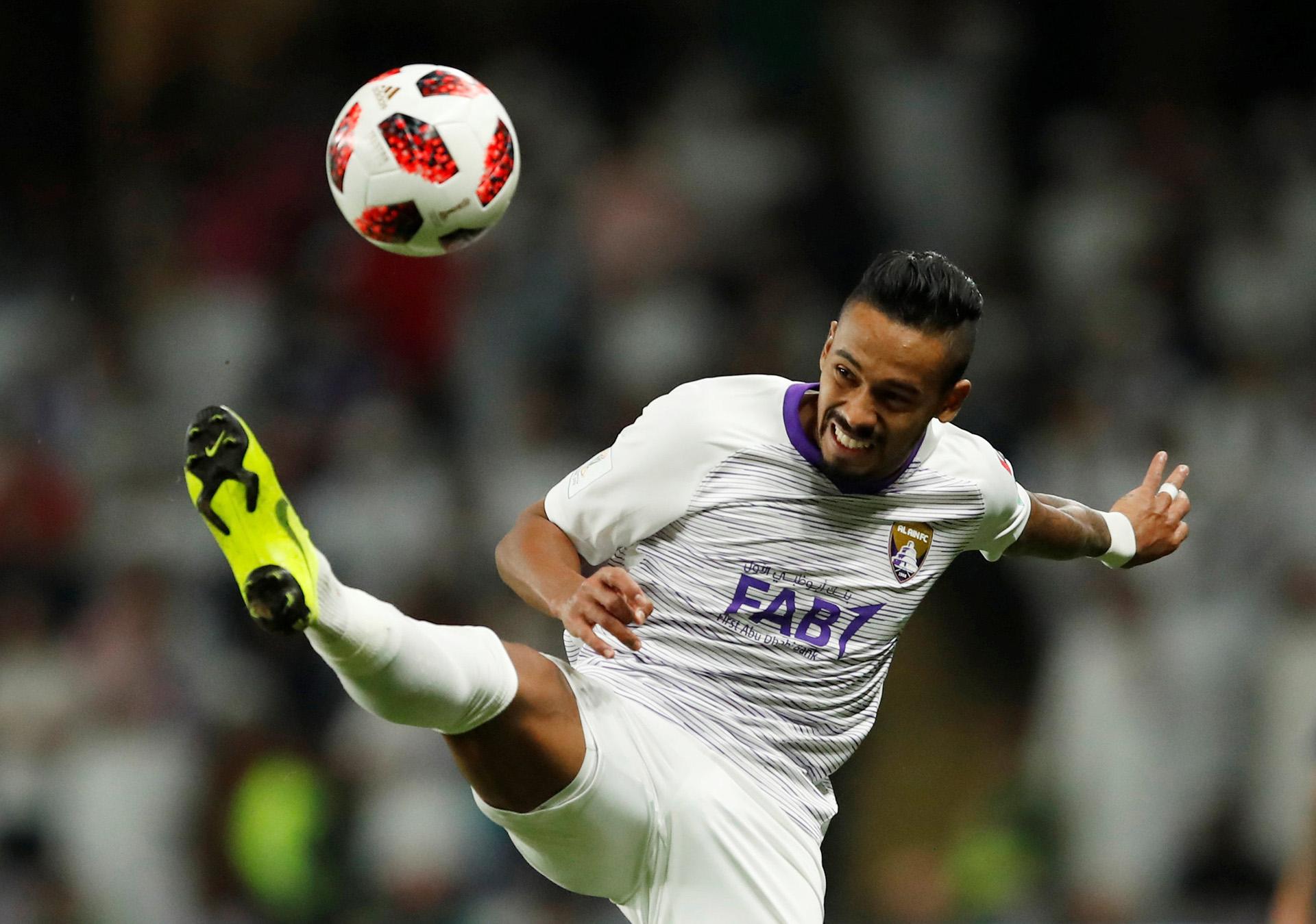 Caio, el mejor jugador del Al Ain y autor de un gol
