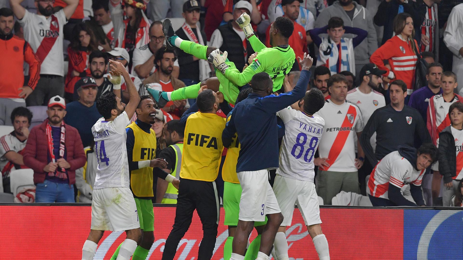 Al Ain llegó a la definición por penales con 330 minutos en las piernas y no los sintió